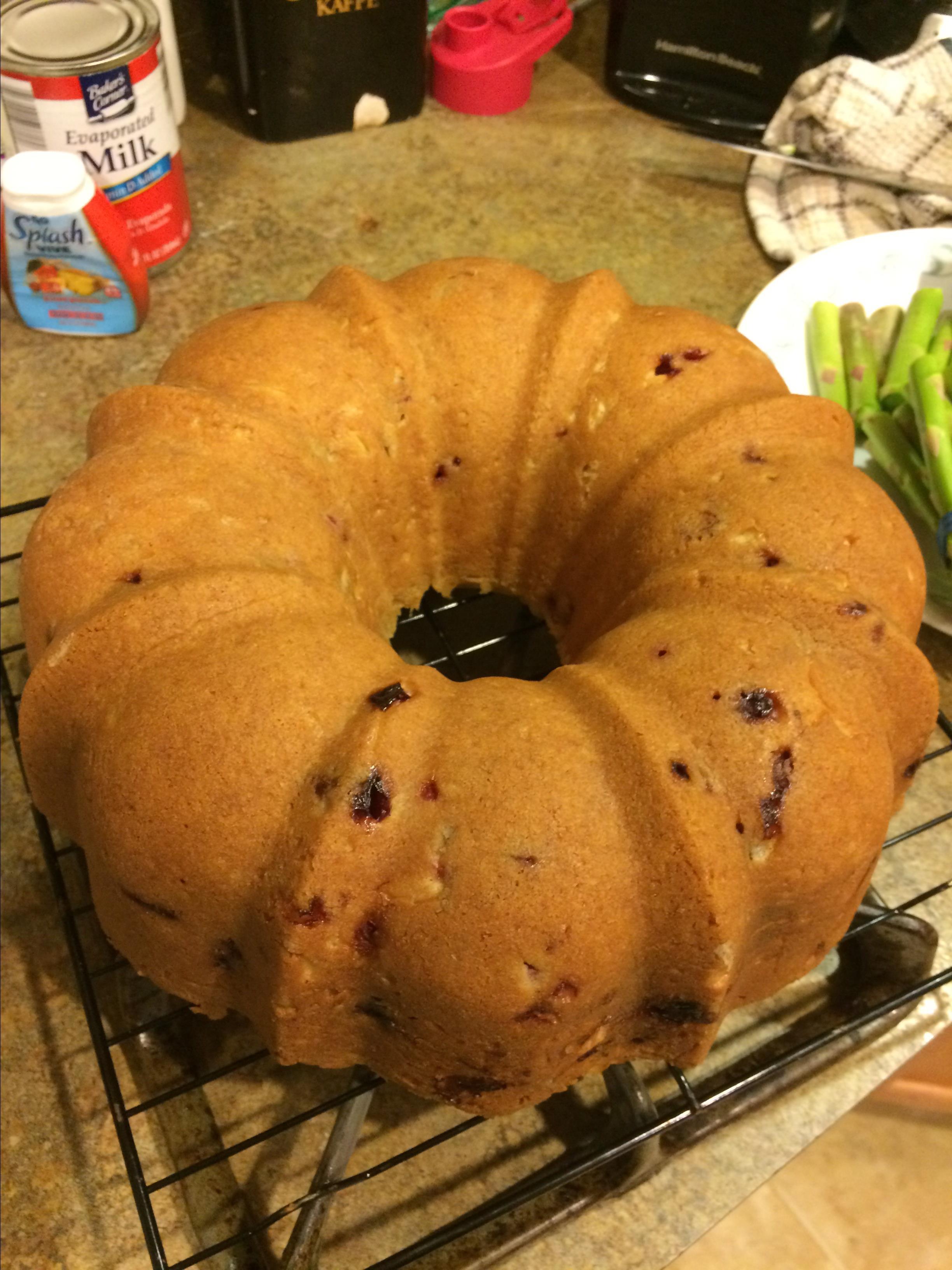 Ultimate Cranberry Pudding Cake G-ma Ro Ro