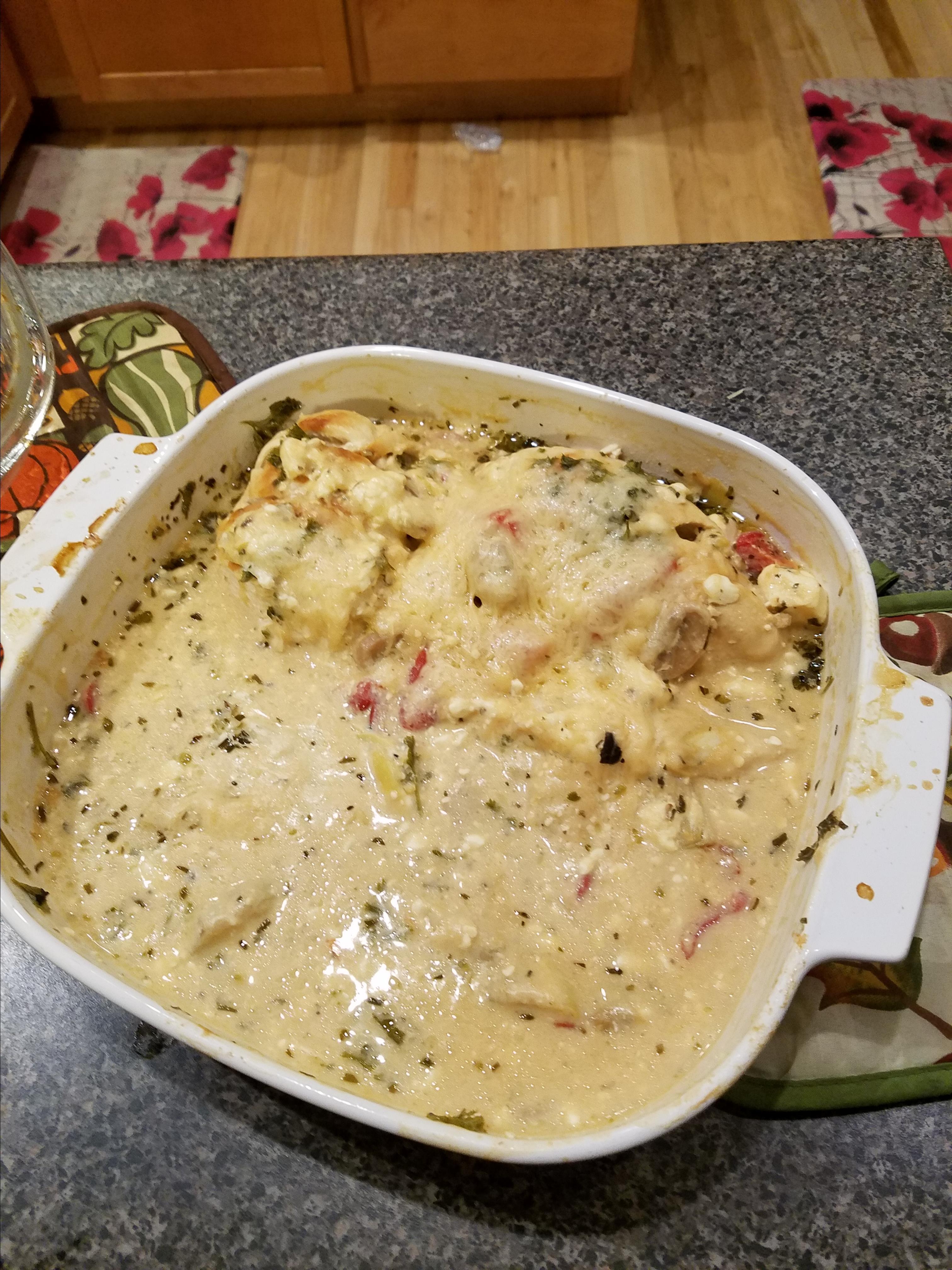 Creamy Lemon Chicken with Pasta Bob McGrath
