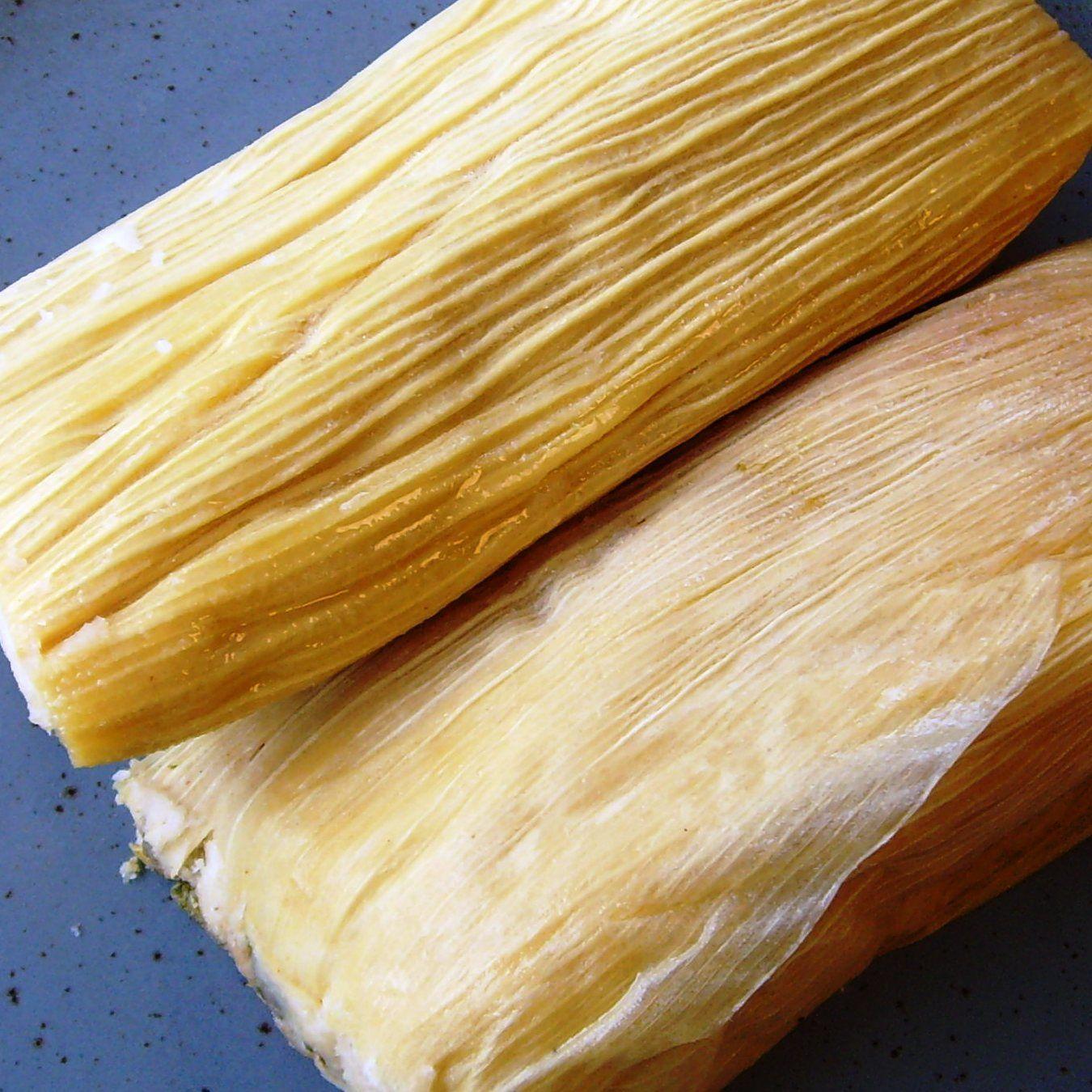 Tamales de Puerco (Red Pork Tamales)