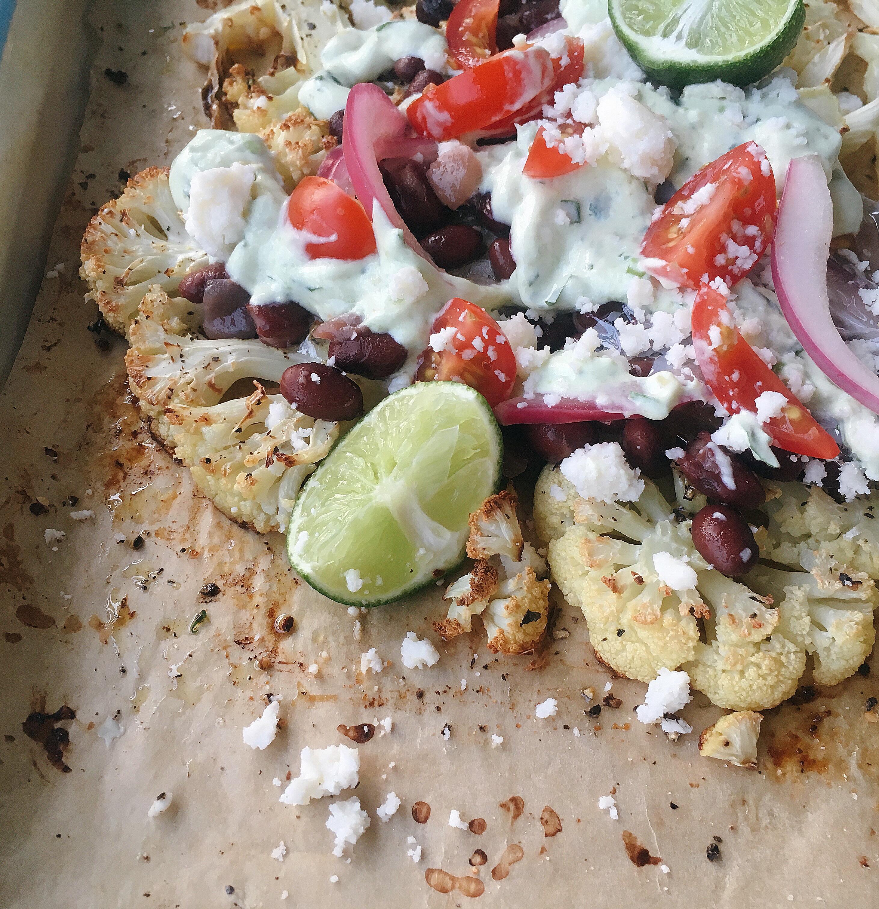 Cauliflower Nachos LauraF