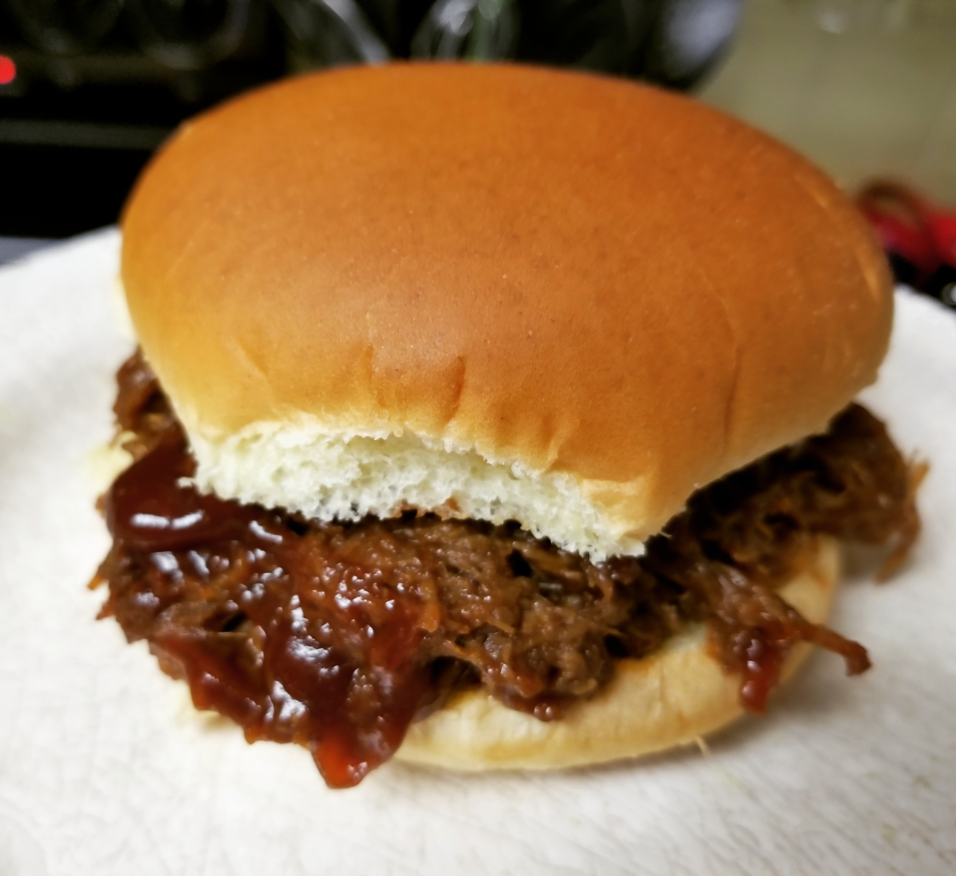 Slow Cooker Barbeque