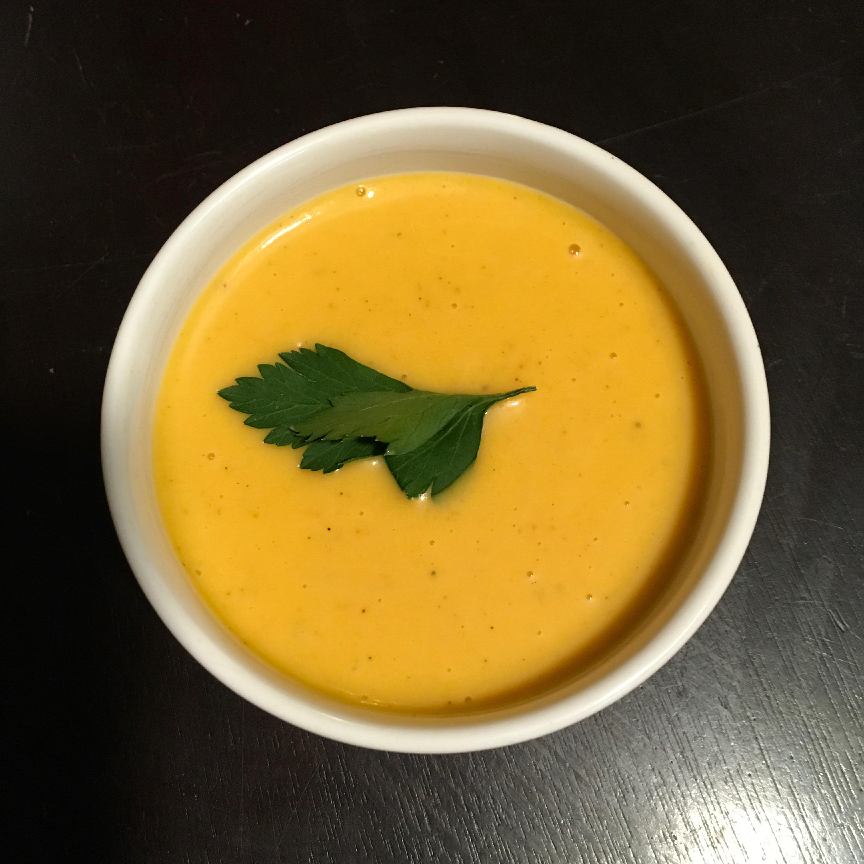 Butternut and Acorn Squash Soup Ms. Christina