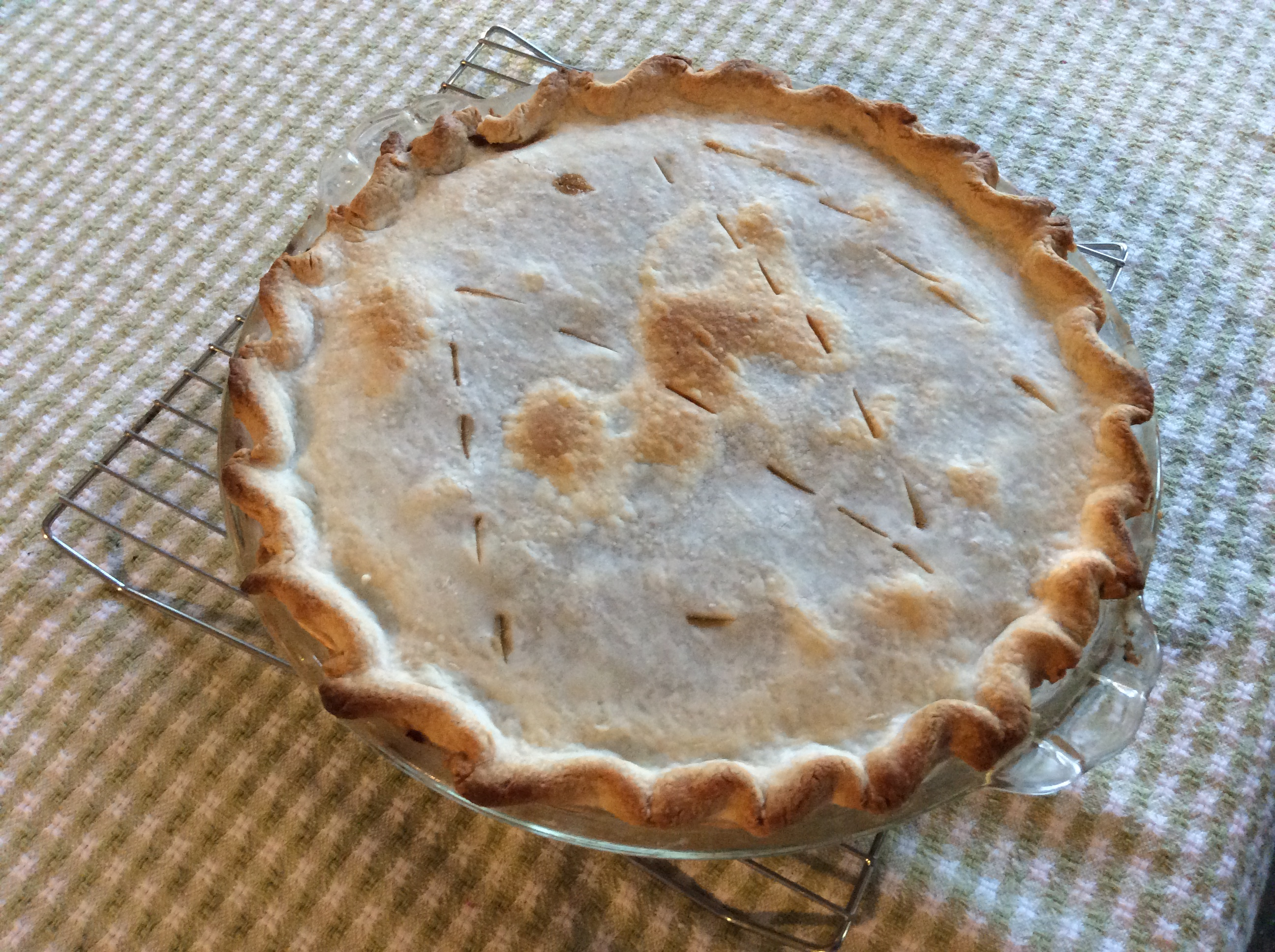 Green Tomato Mock Mincemeat Pie