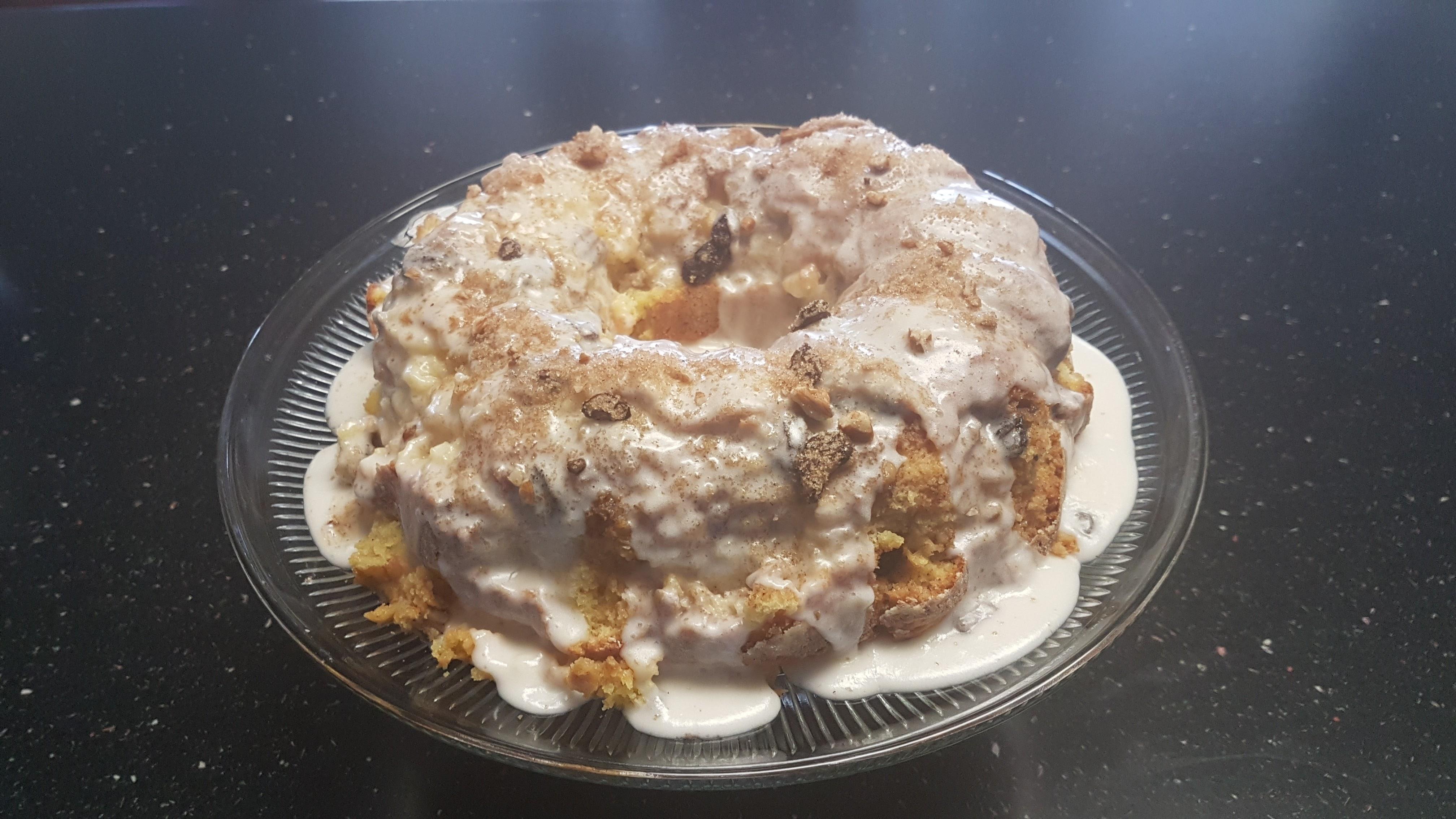 Honey Bun Cake II Rebecca