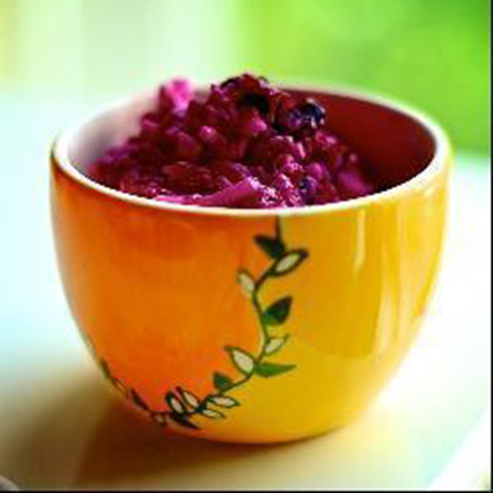 Russian Beet Salad with Sour Cream