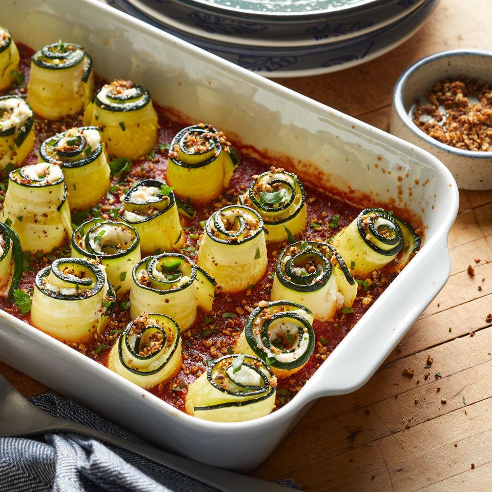 Zucchini Lasagna Rolls Trusted Brands