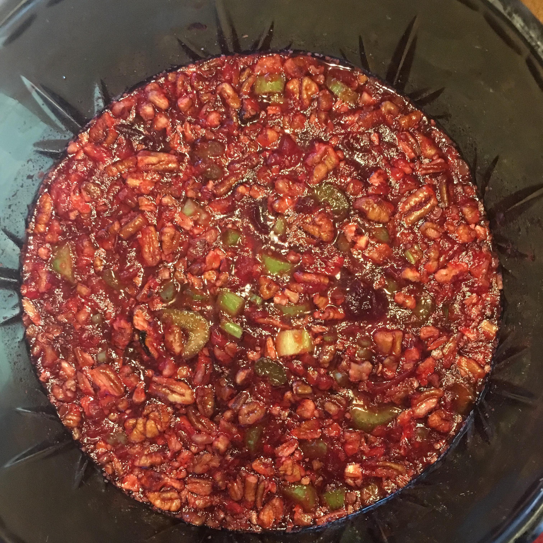 Grandma's Cranberry-Orange Gelatin Salad Jennifer Partyka