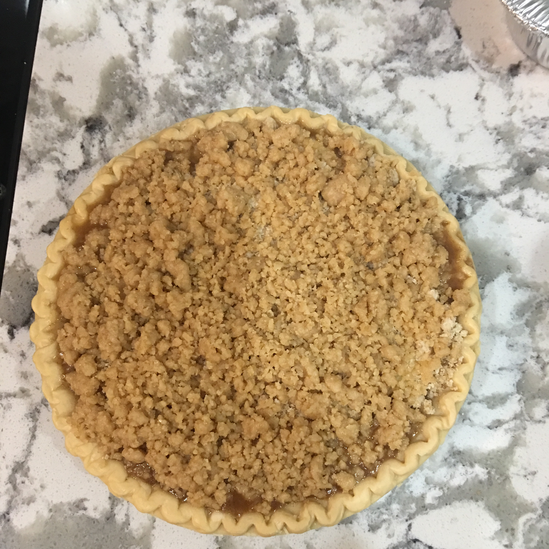 Blue Ribbon Apple Crumb Pie chris