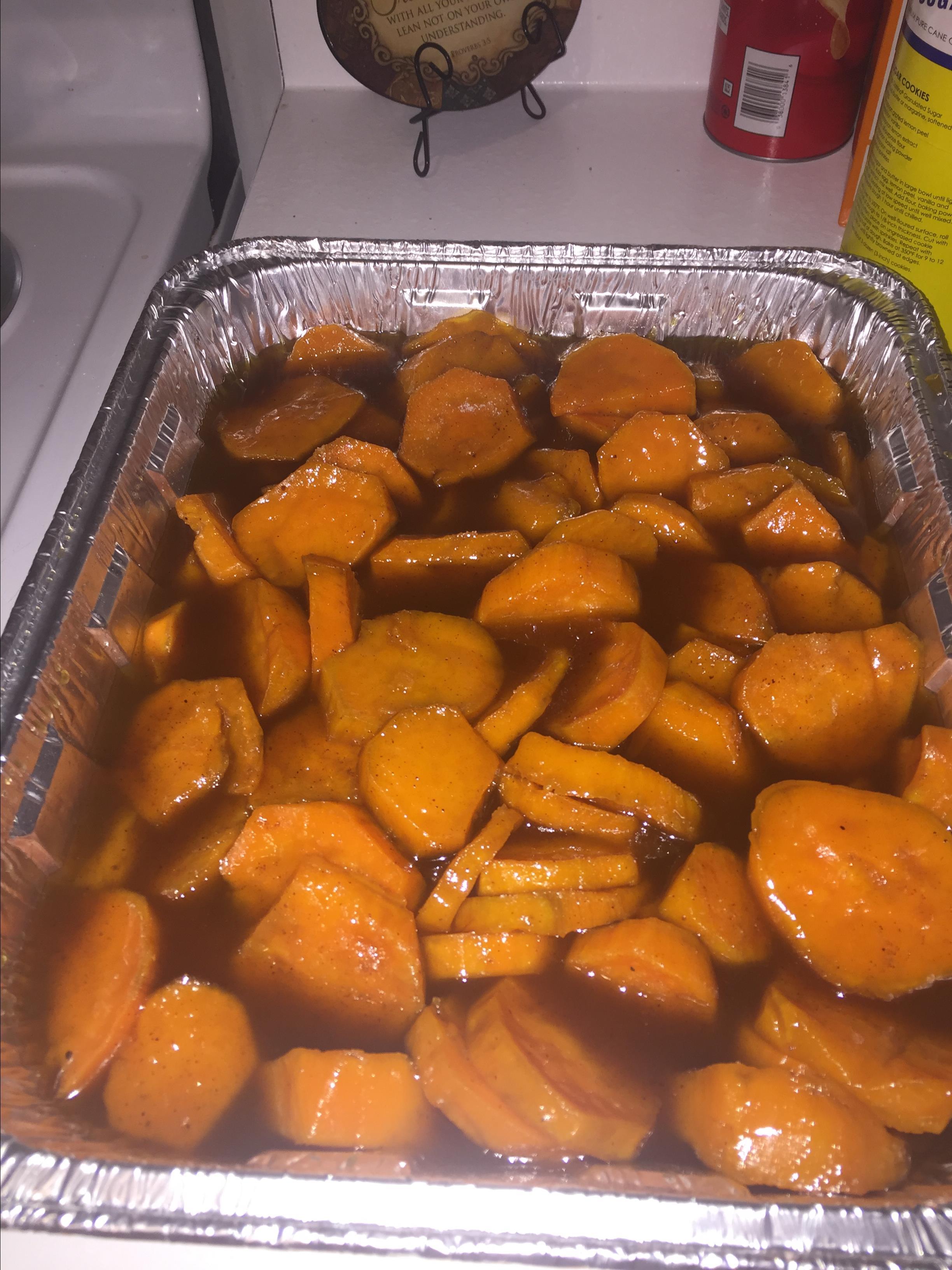 Southern Candied Sweet Potatoes MrsNJ