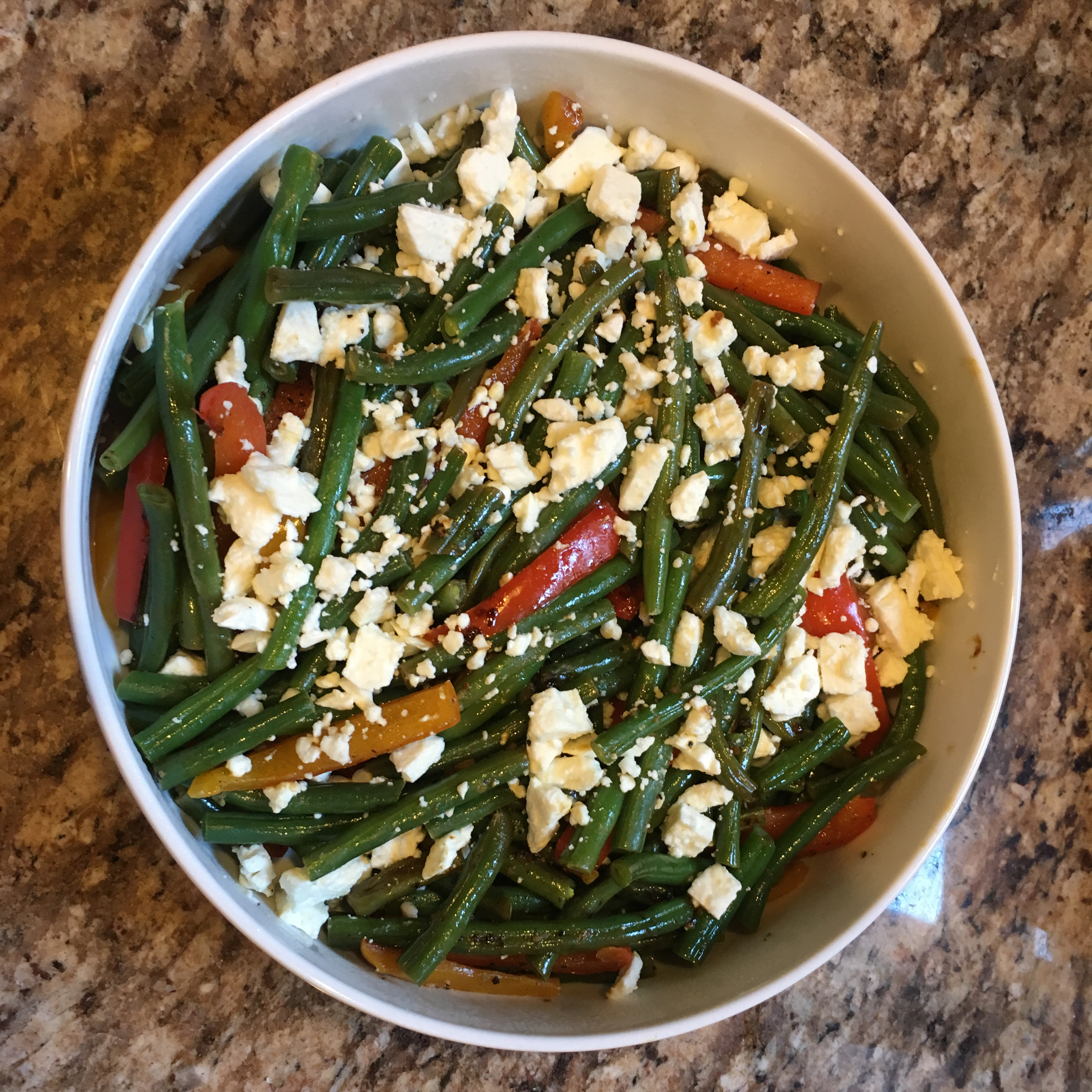 Arica's Green Beans and Feta Landon Lacey Wehbe