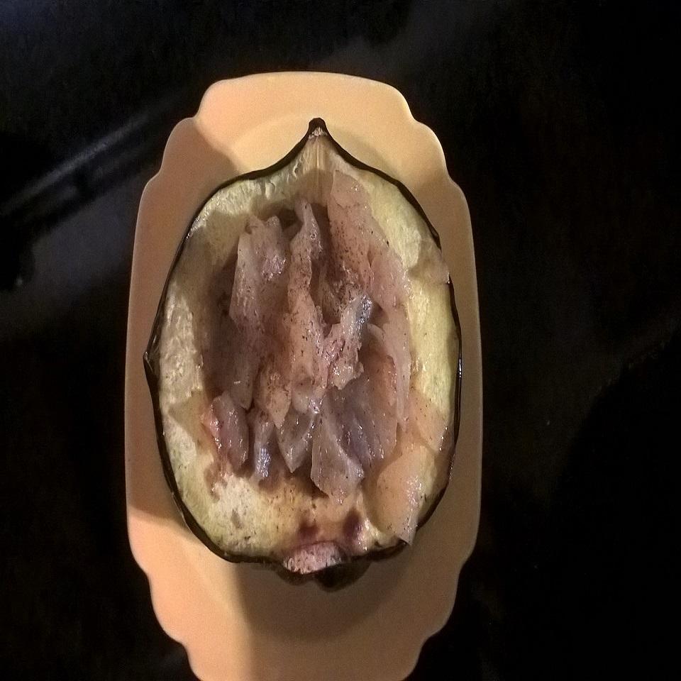 Baked Acorn Squash with Apple Stuffing BakePetteePye