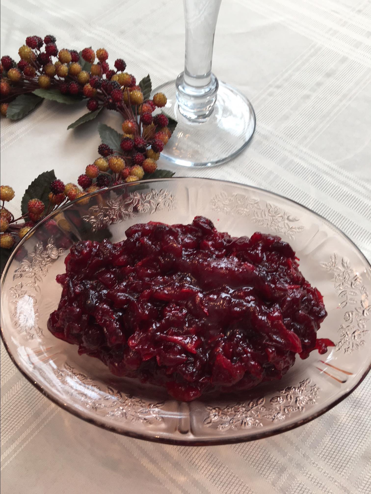 Patti's Triple Cranberry Sauce Denise Pope