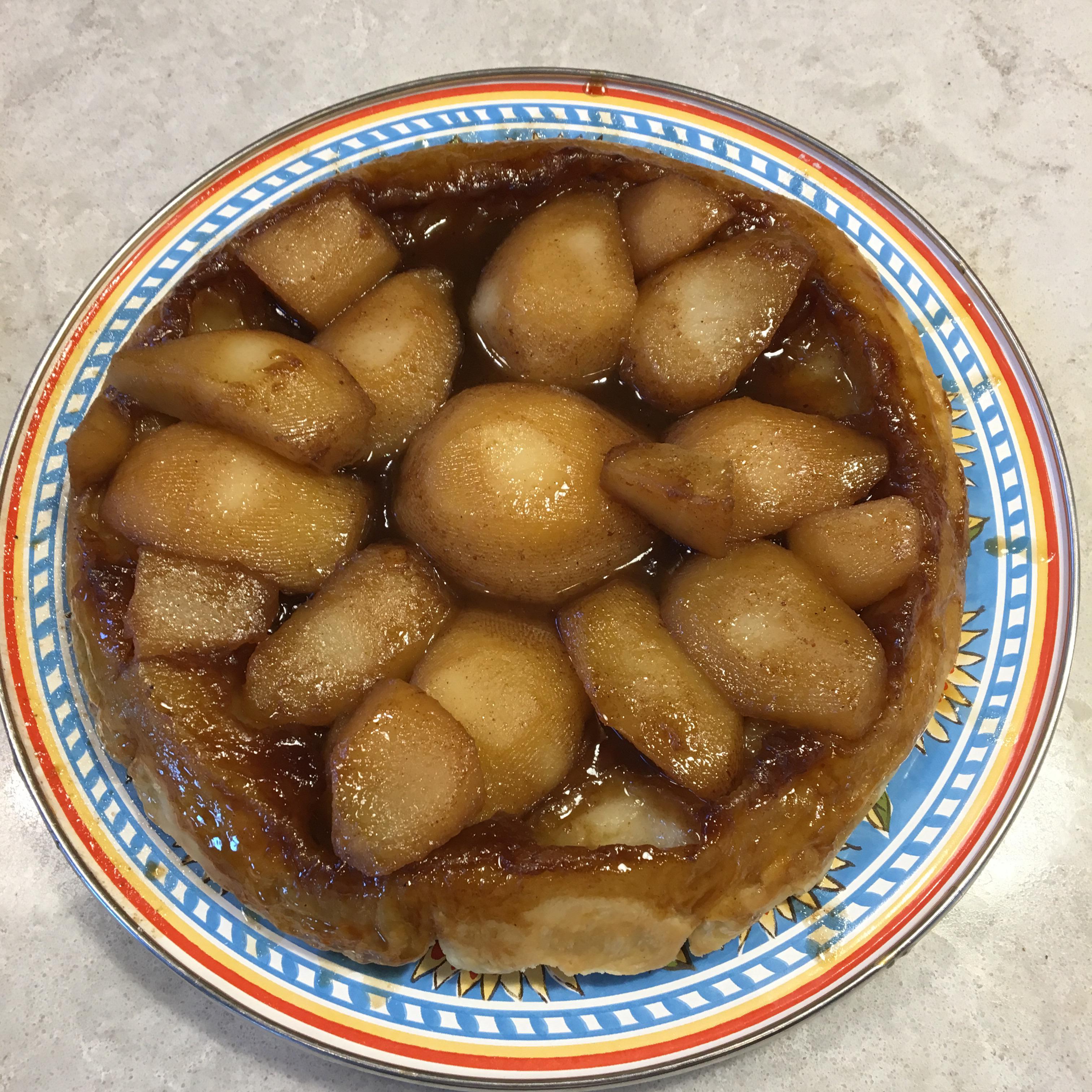 Maple-Pear Tarte Tatin Mike Clark