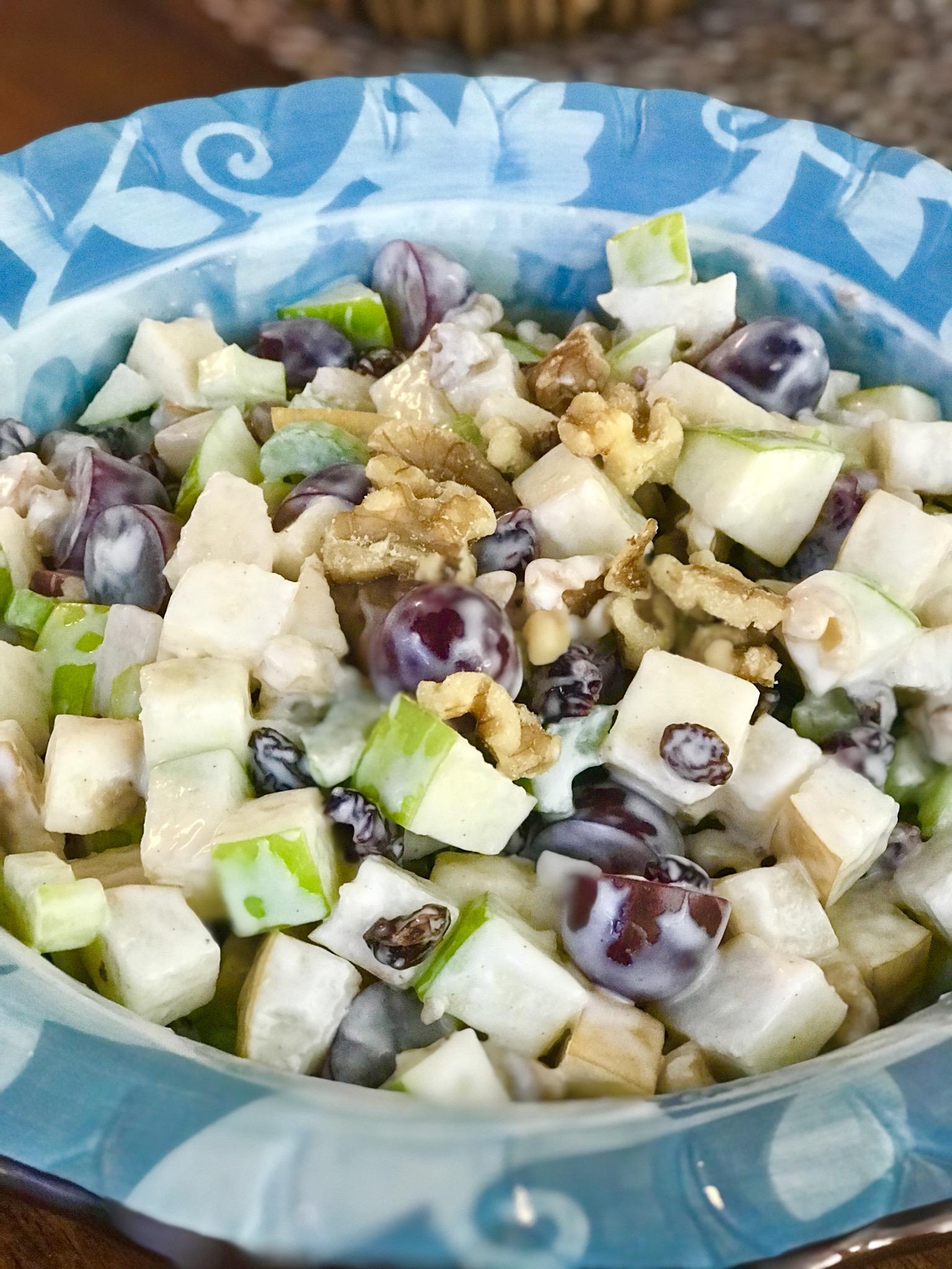 Autumn Waldorf Salad