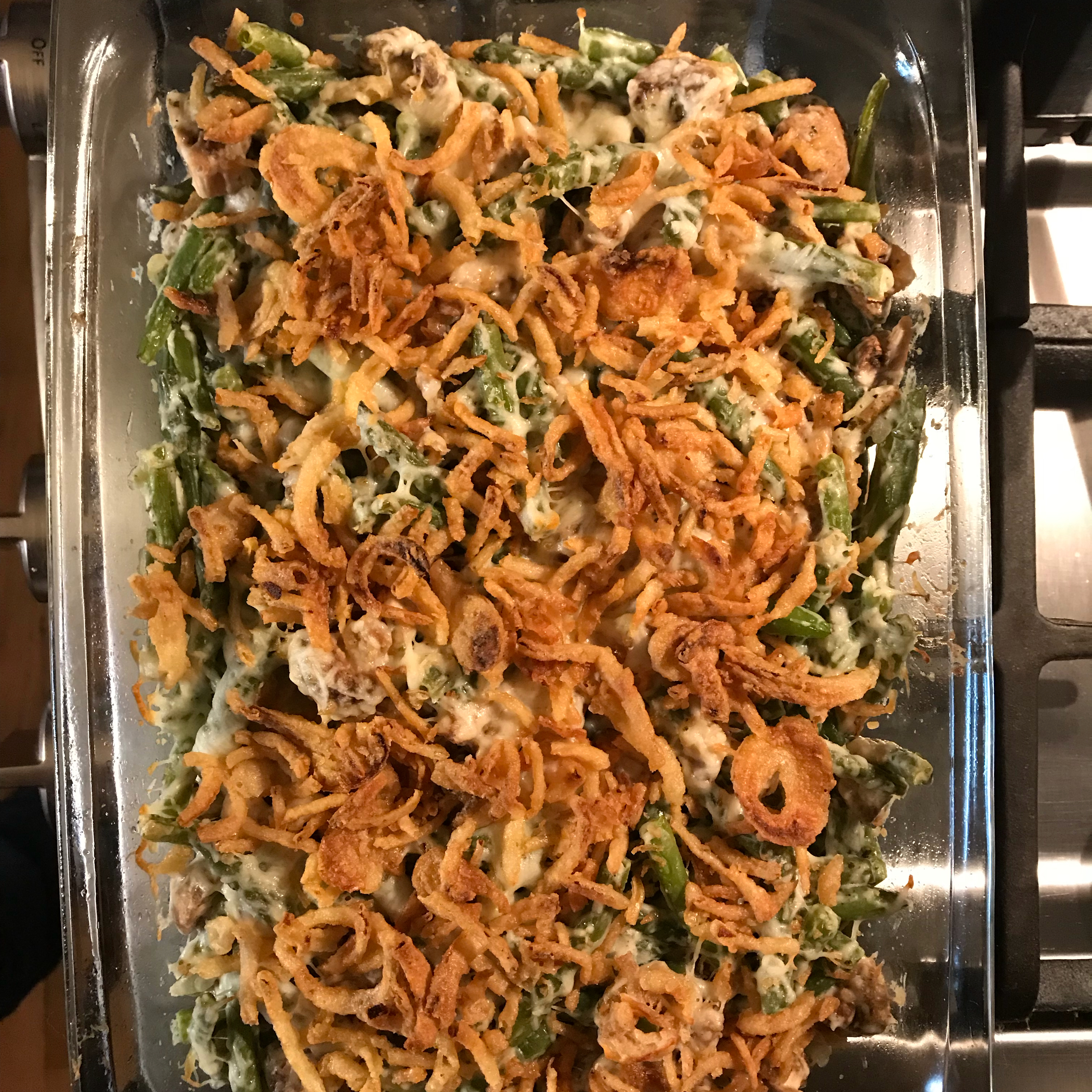 Absolutely Delicious Green Bean Casserole from Scratch Patty Curcio