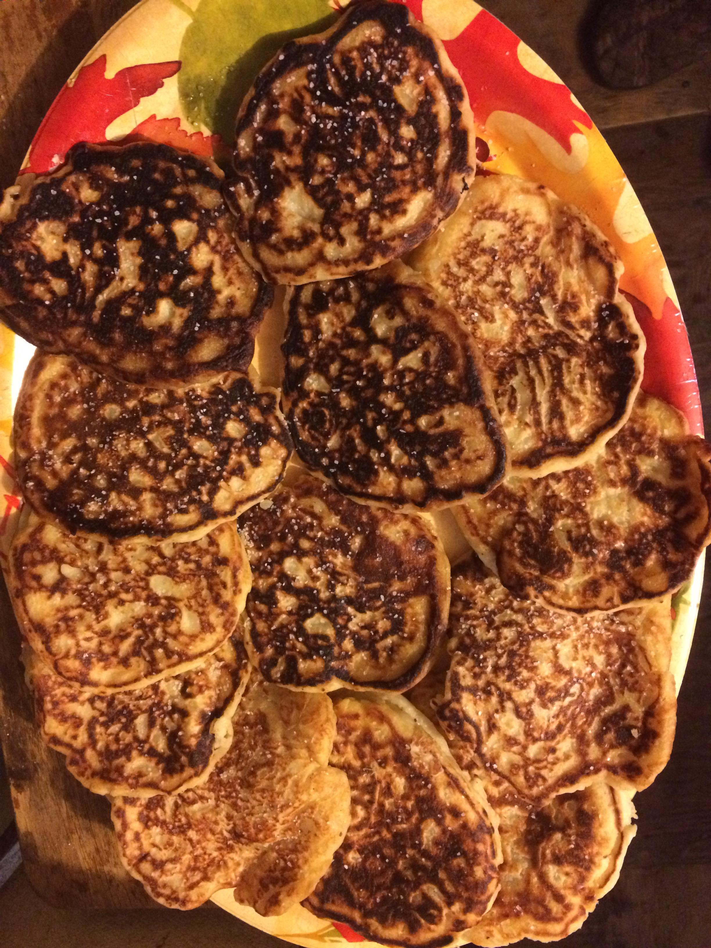 Ellen Szaller's Mashed Potato Pancakes Bonnie Parker