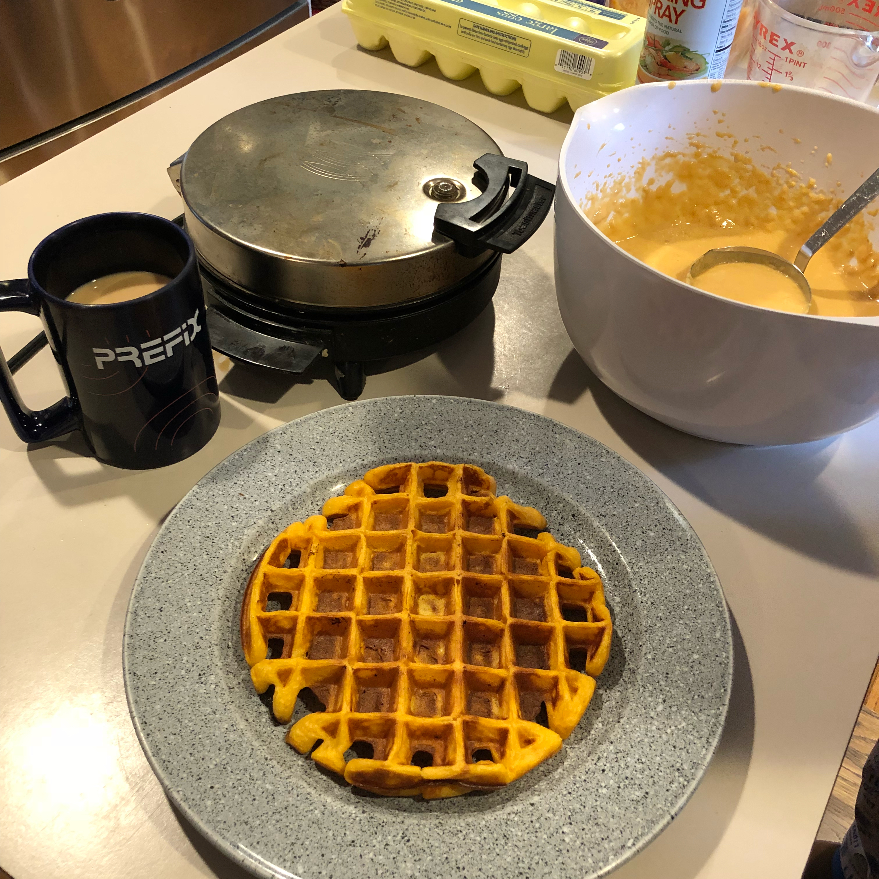 Sweet Potato Waffles Kurt D. Zeile