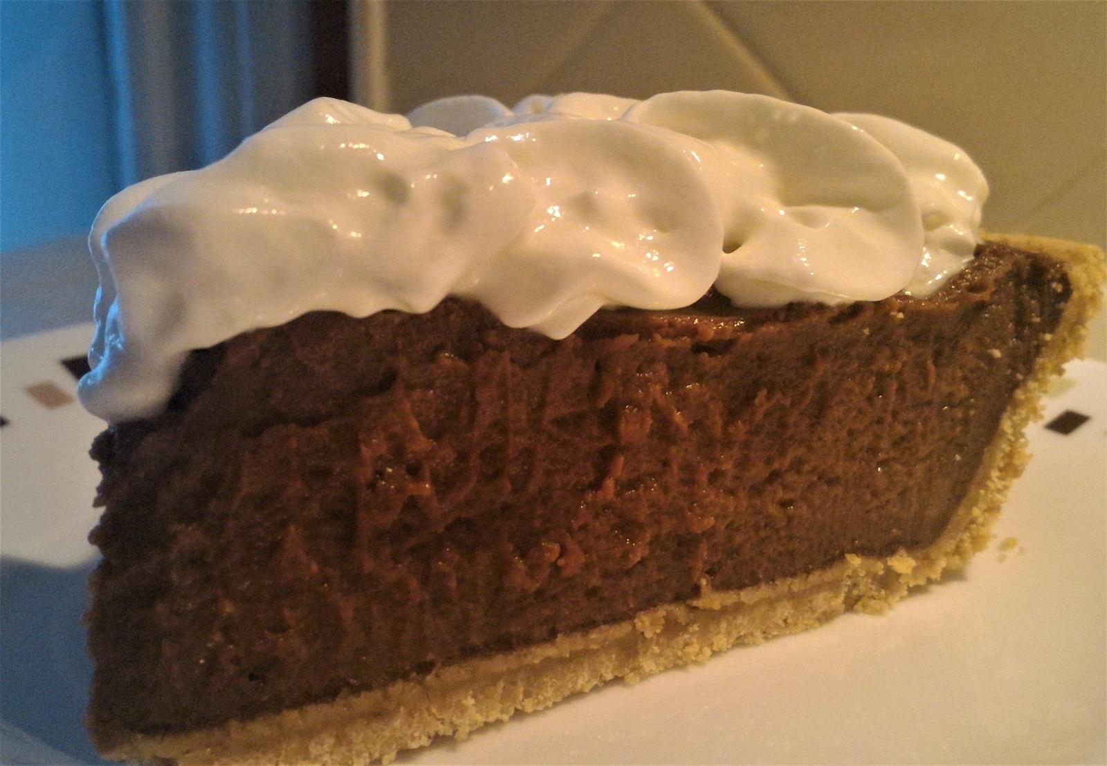 Grandma Emma's Fudgy Chocolate Pie