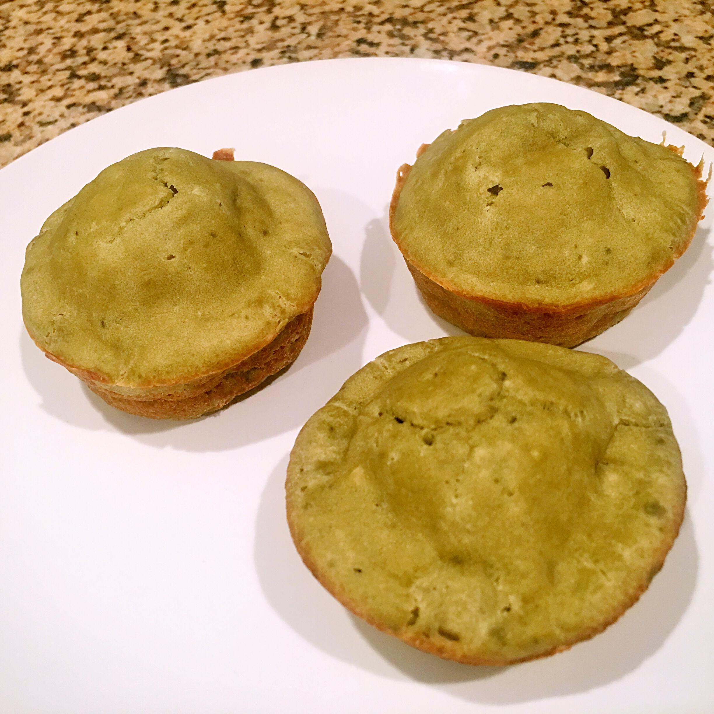 Green-Tea Cupcakes Ann
