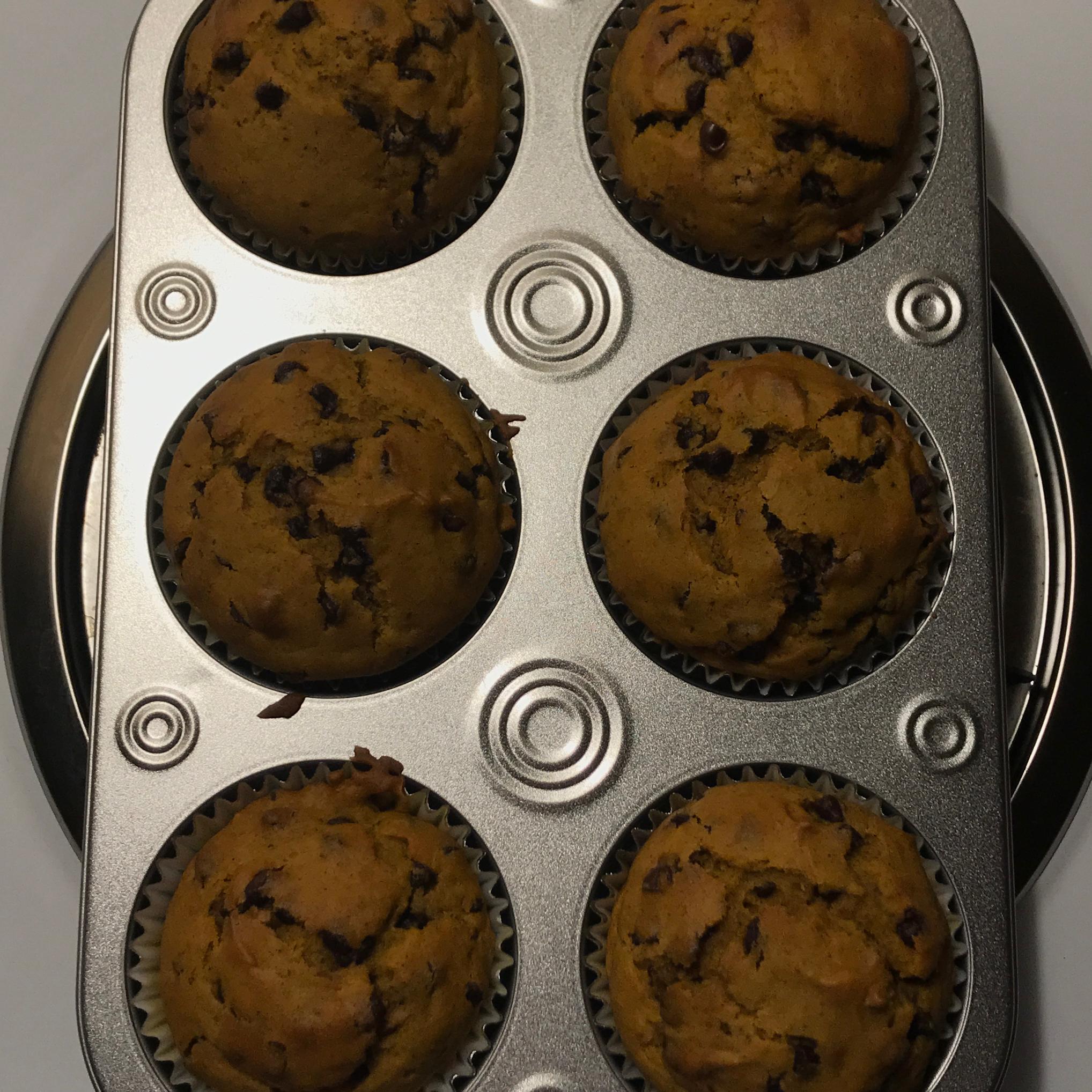 Pumpkin Chocolate Chip Muffins Julie Huhn