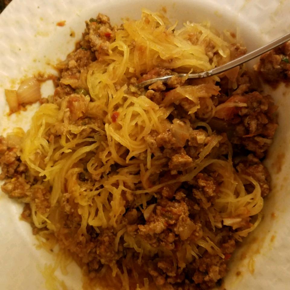 Spicy Spaghetti Squash Selah