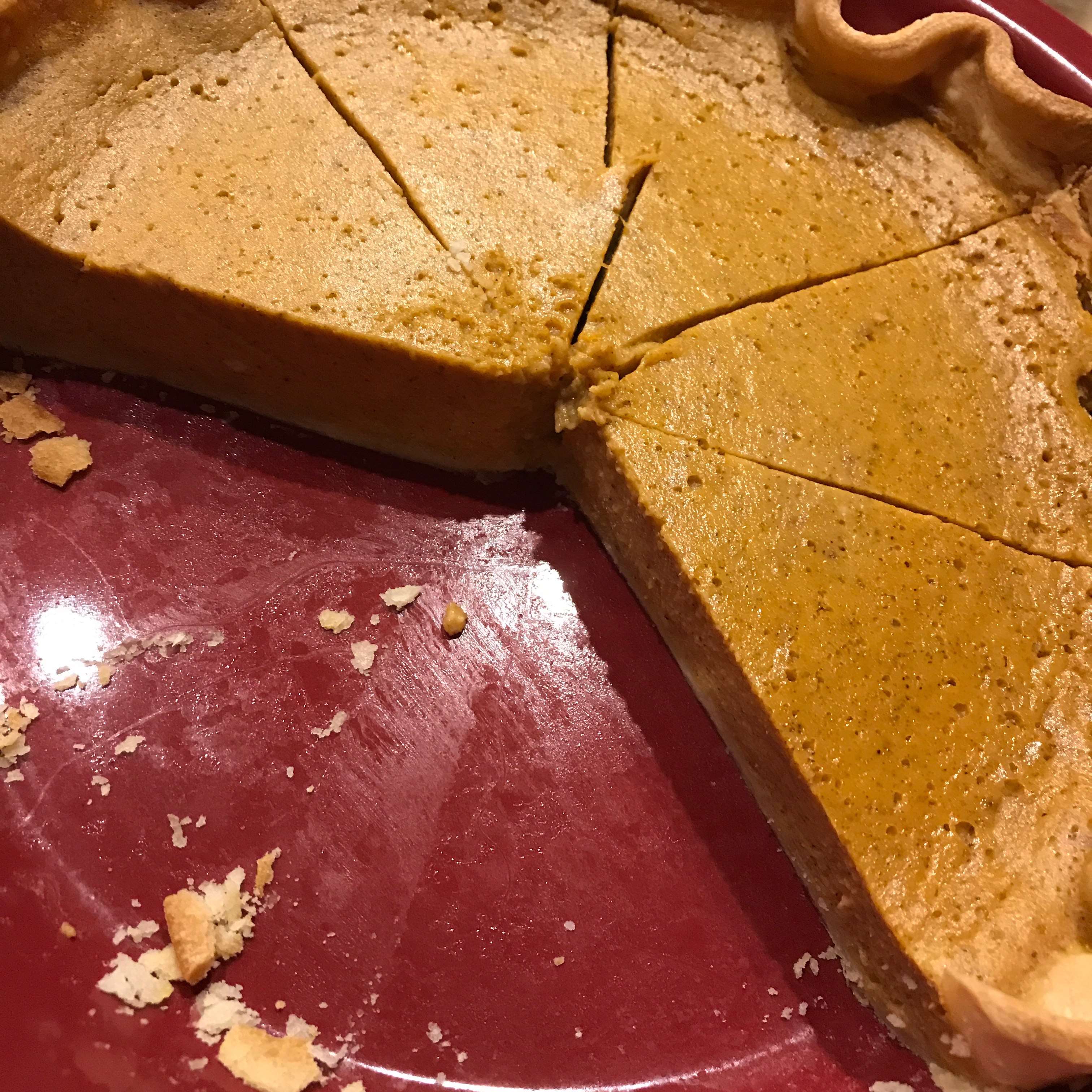 Pumpkin Custard Pie II Lily Yee