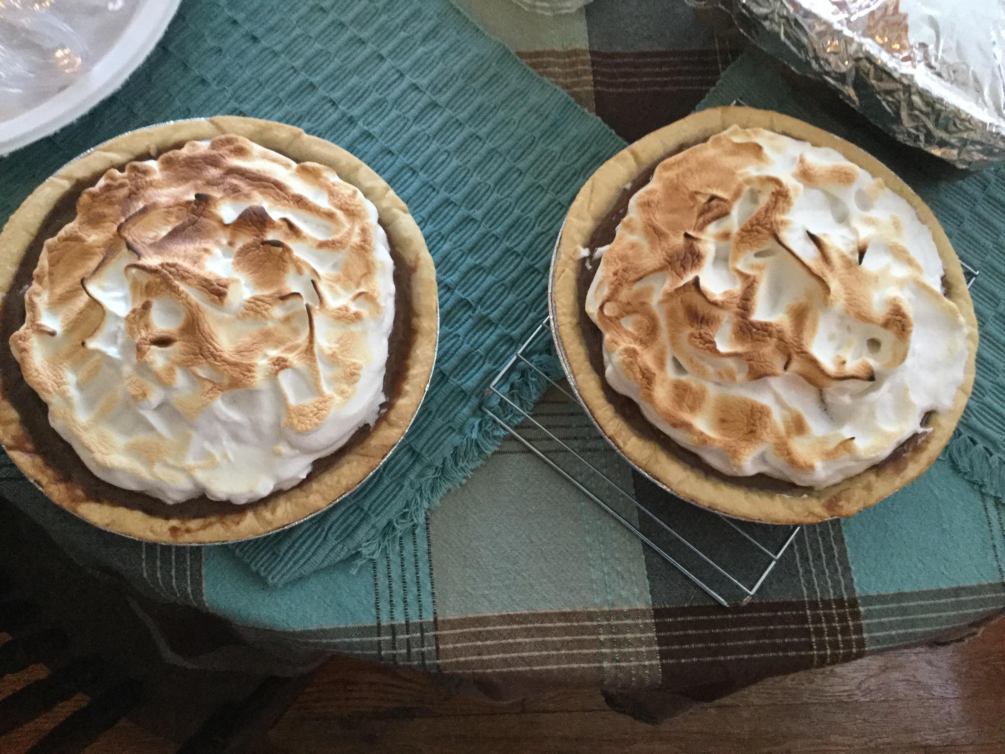 Fudgy Chocolate Cream Pie Tammy Alterio
