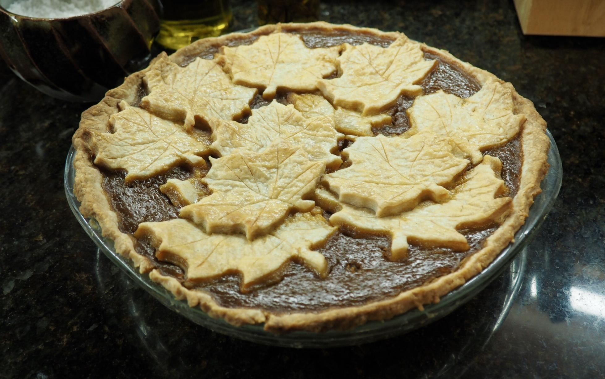 Pumpkin Maple Pie Supreme Robert Smith