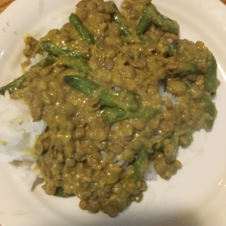 Curried Lentils Jias foods