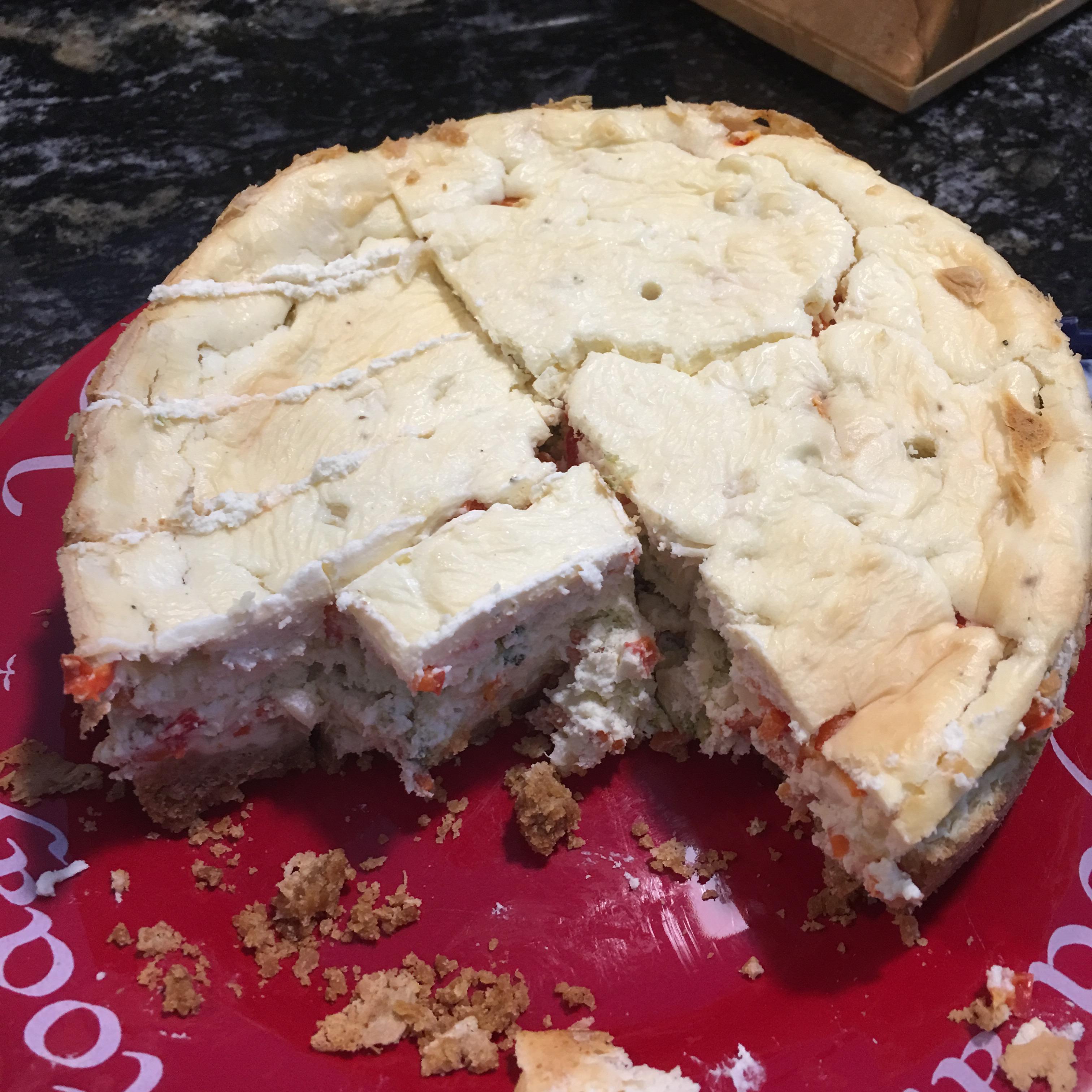 Savory Vegetable Cheesecake