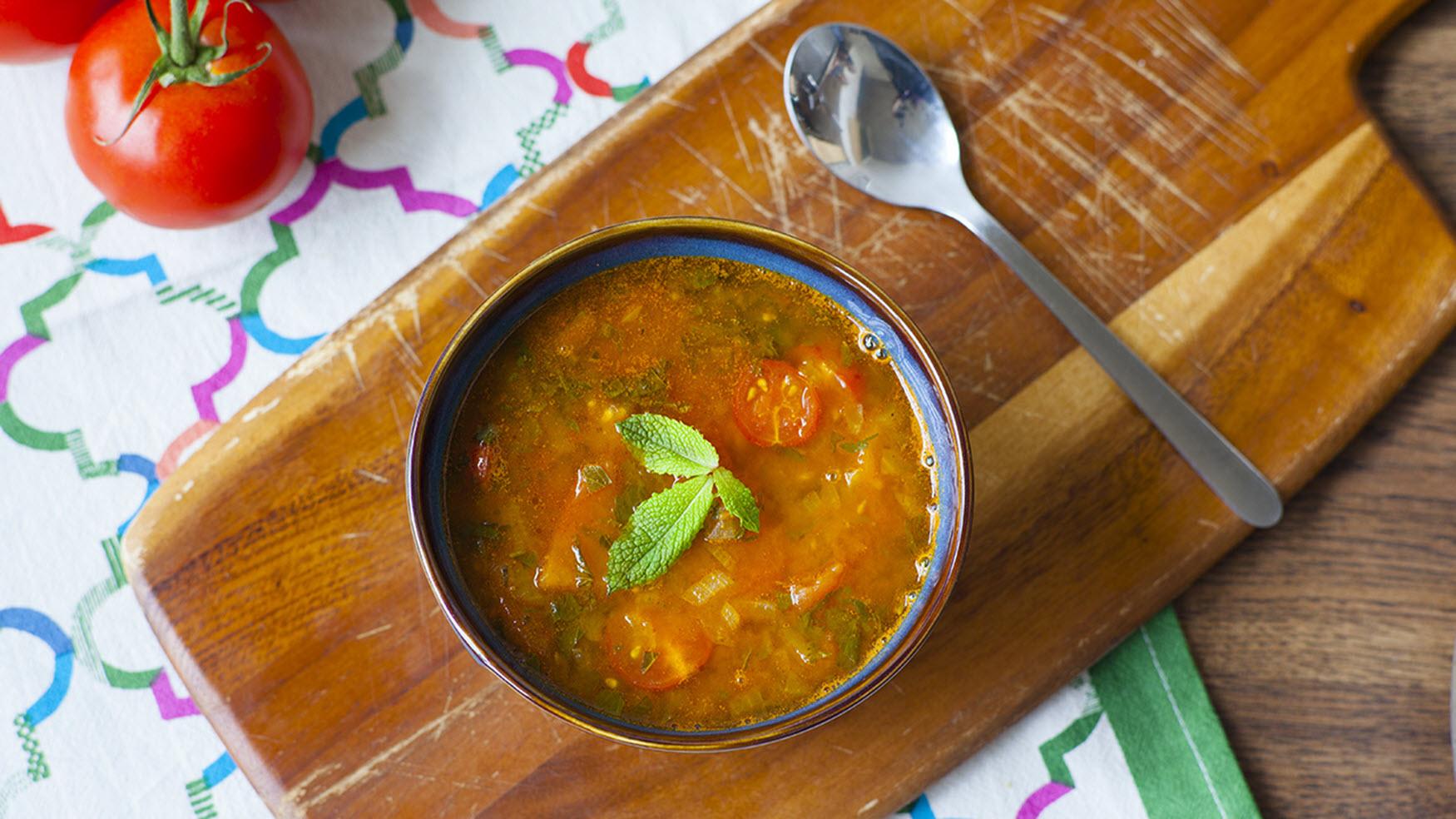 Vegetarian Moroccan Harira Magda