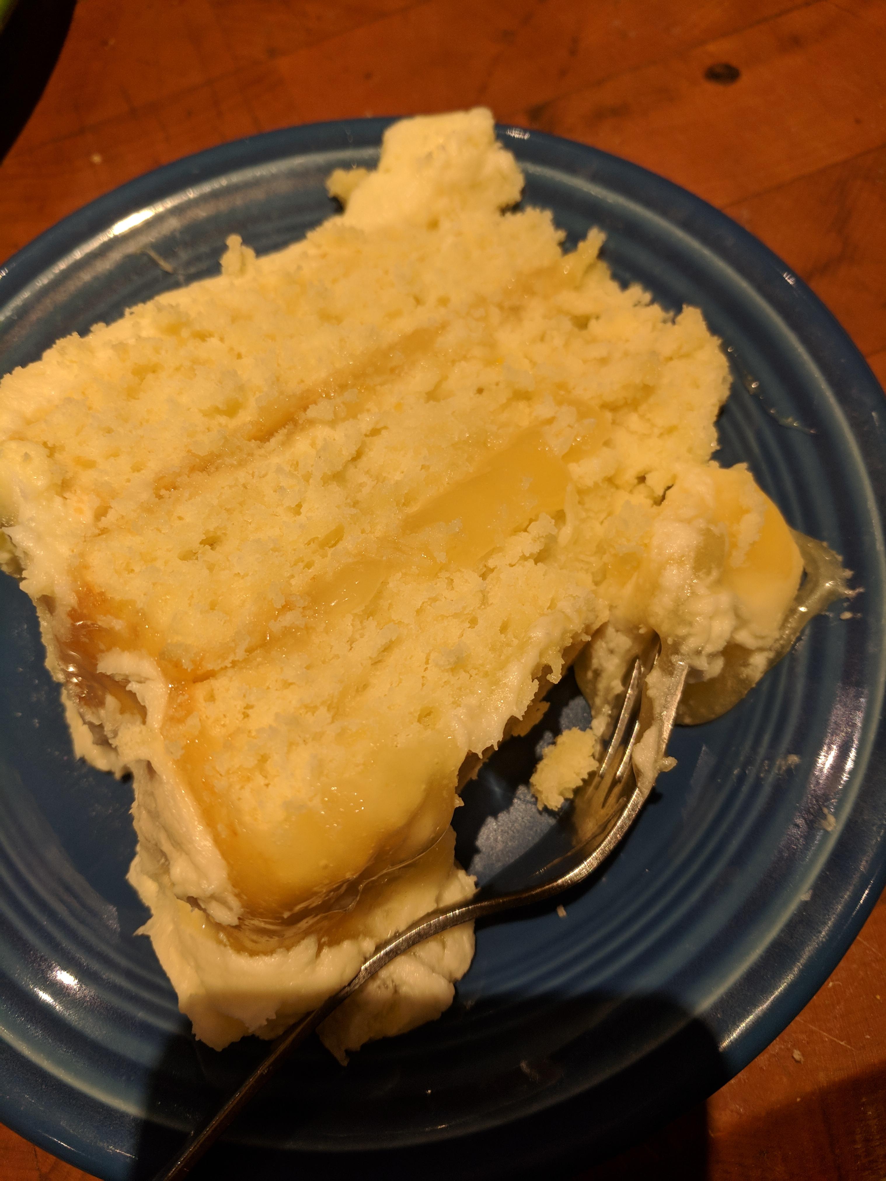Sybil's Old Fashioned Lemon Layer Cake TRINAMB