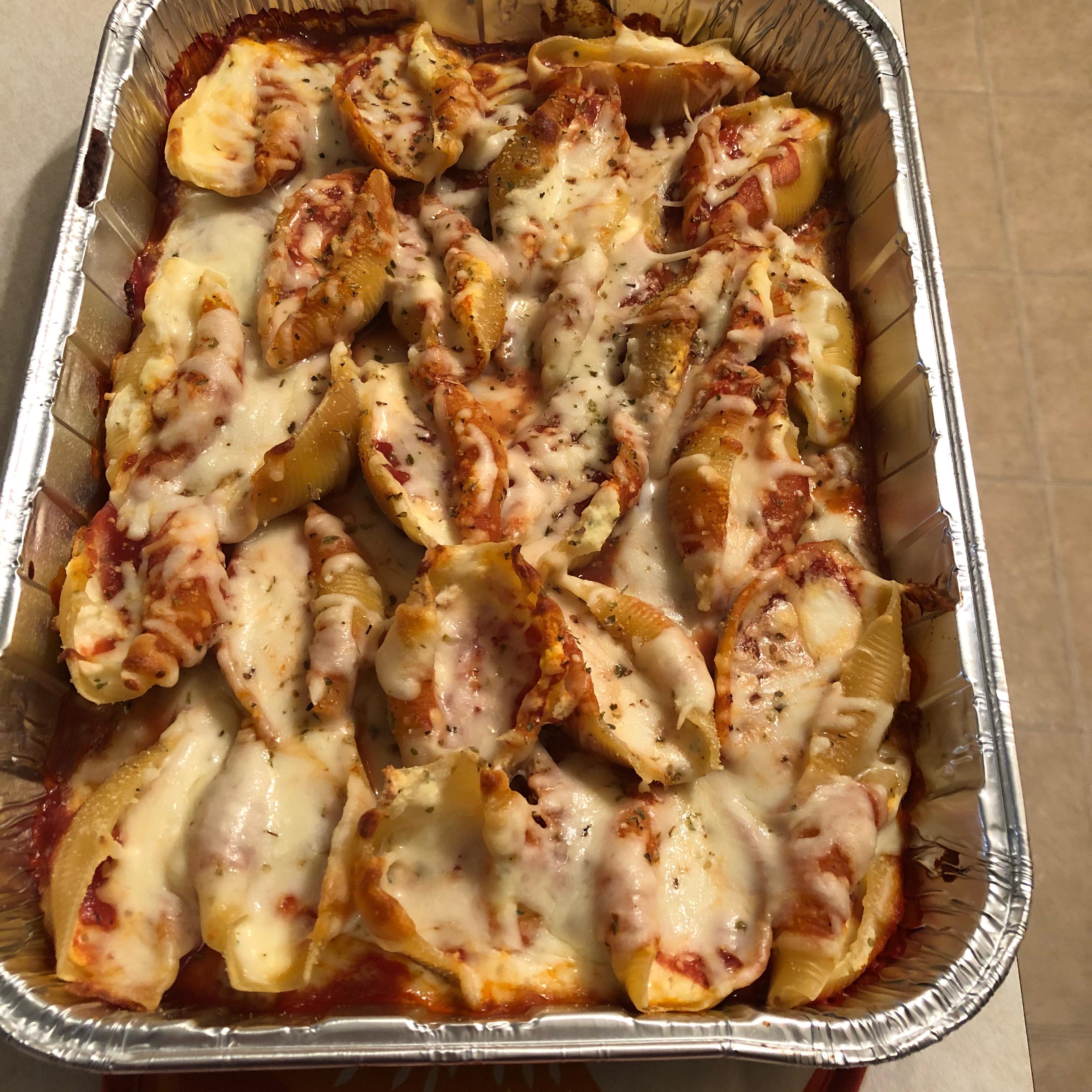 Lasagna Stuffed Shells Jearles34