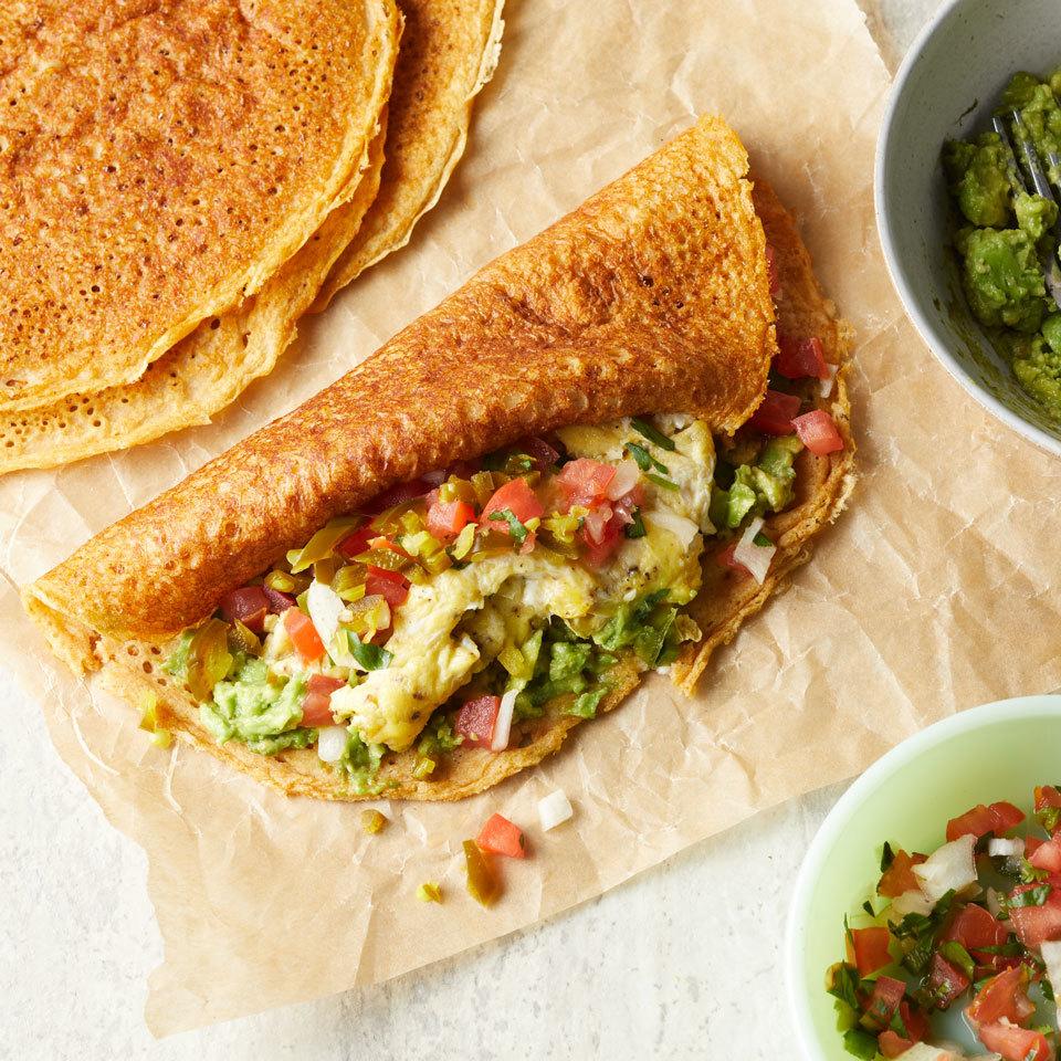 Egg & Avocado Pancake Breakfast Wraps Trusted Brands