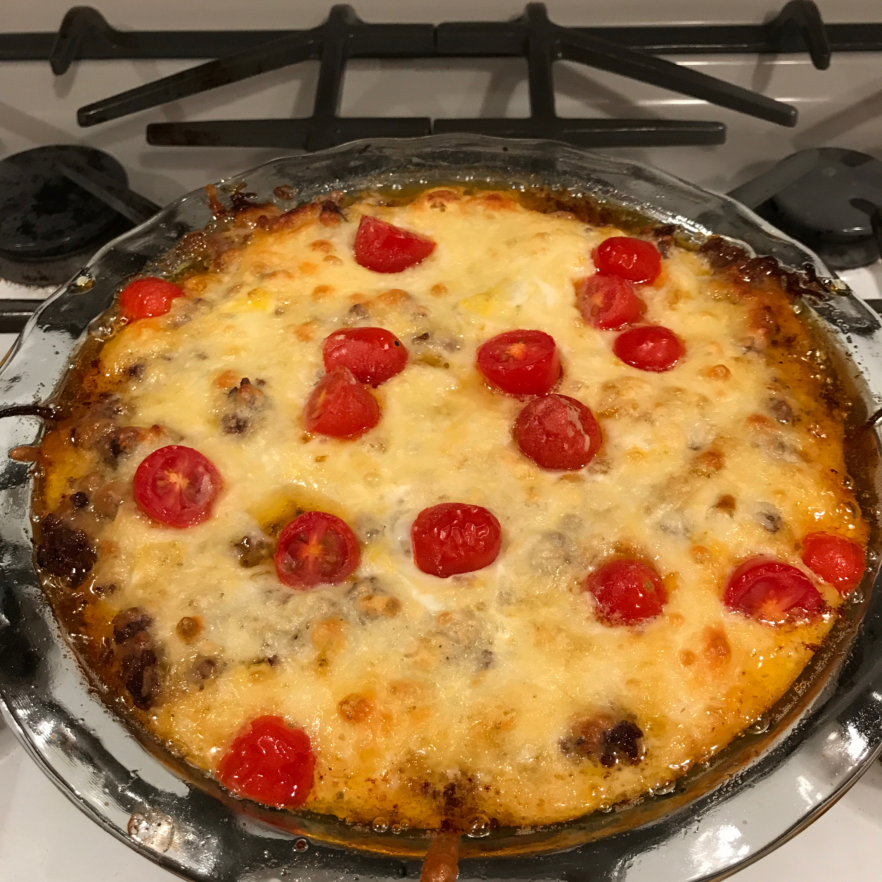 Gluten-Free Impossibly Easy Cheeseburger Pie Chelsea Haas