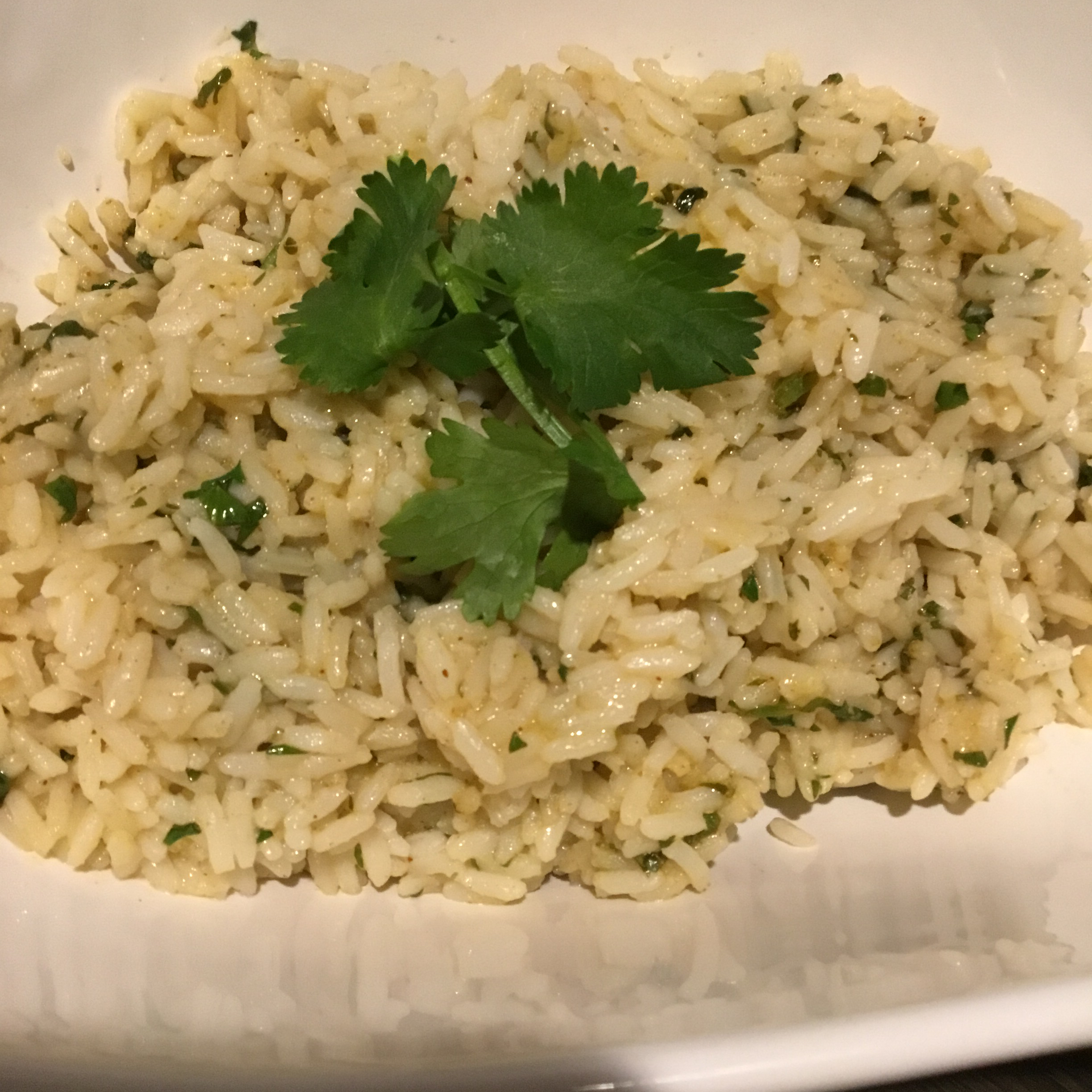 Easy Lime Cilantro Rice