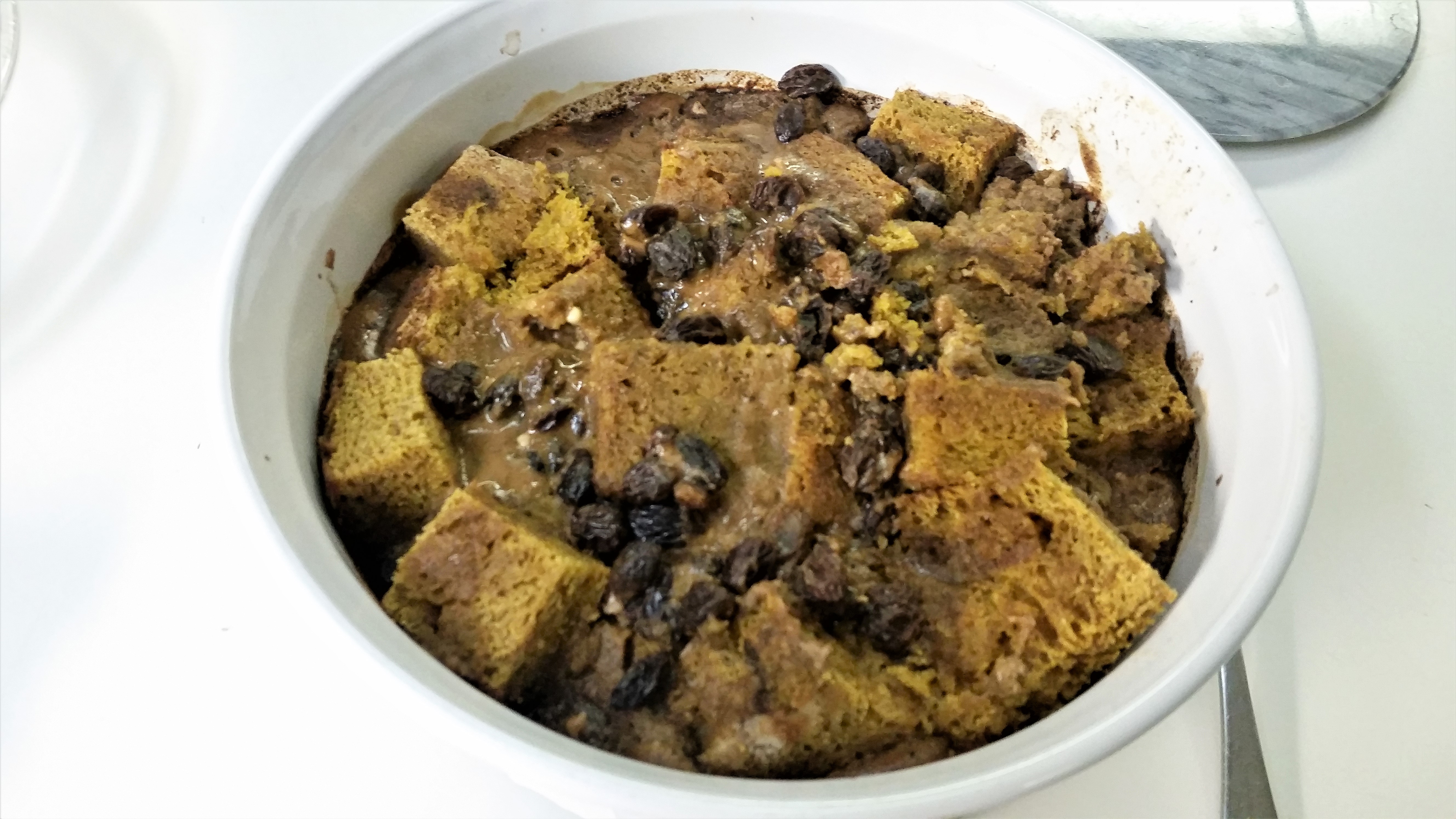 Pumpkin Pie Bread Pudding James