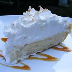 Coconut Marshmallow Cream Meringue Pie