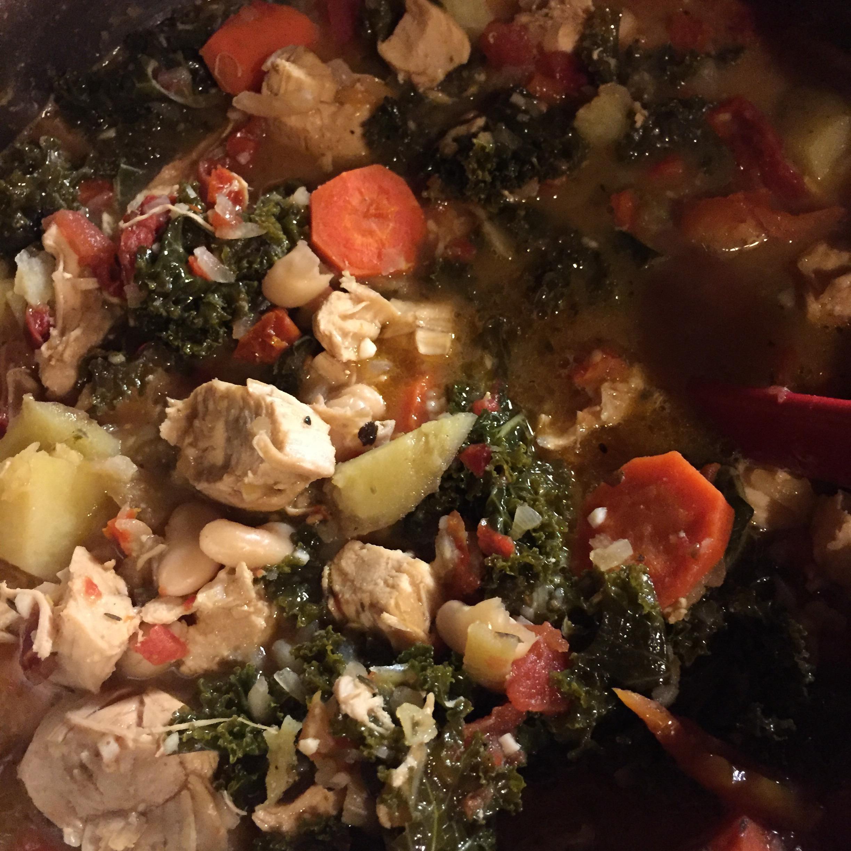 Chamberlayne Chicken and Kale Stew
