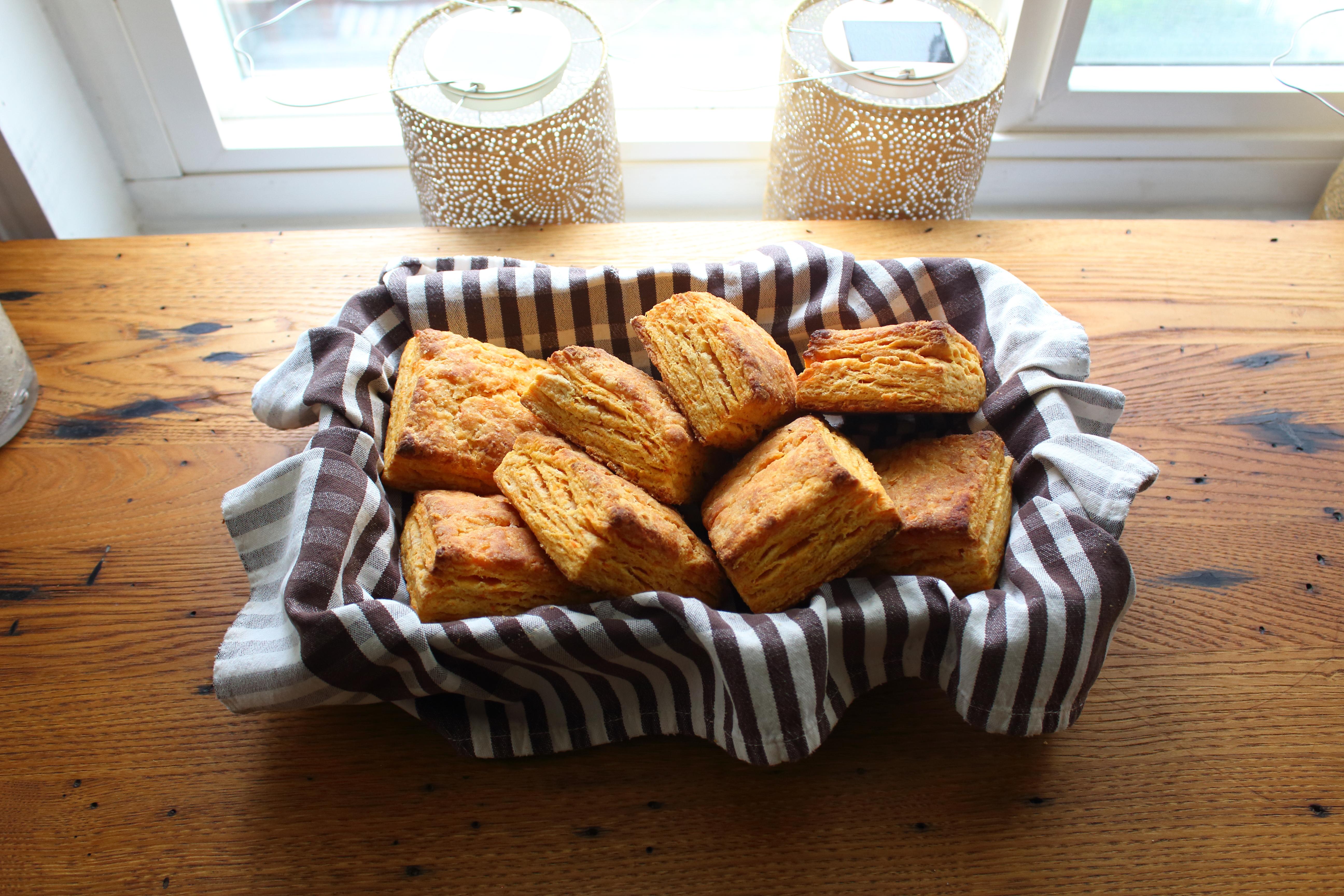 Chef John's Sweet Potato Biscuits