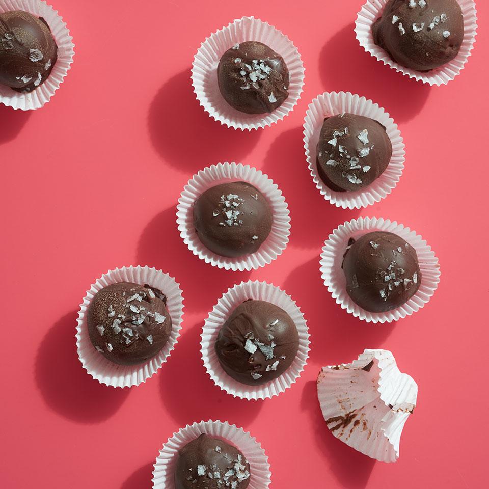 Dark Chocolate Peanut Butter Truffles Trusted Brands