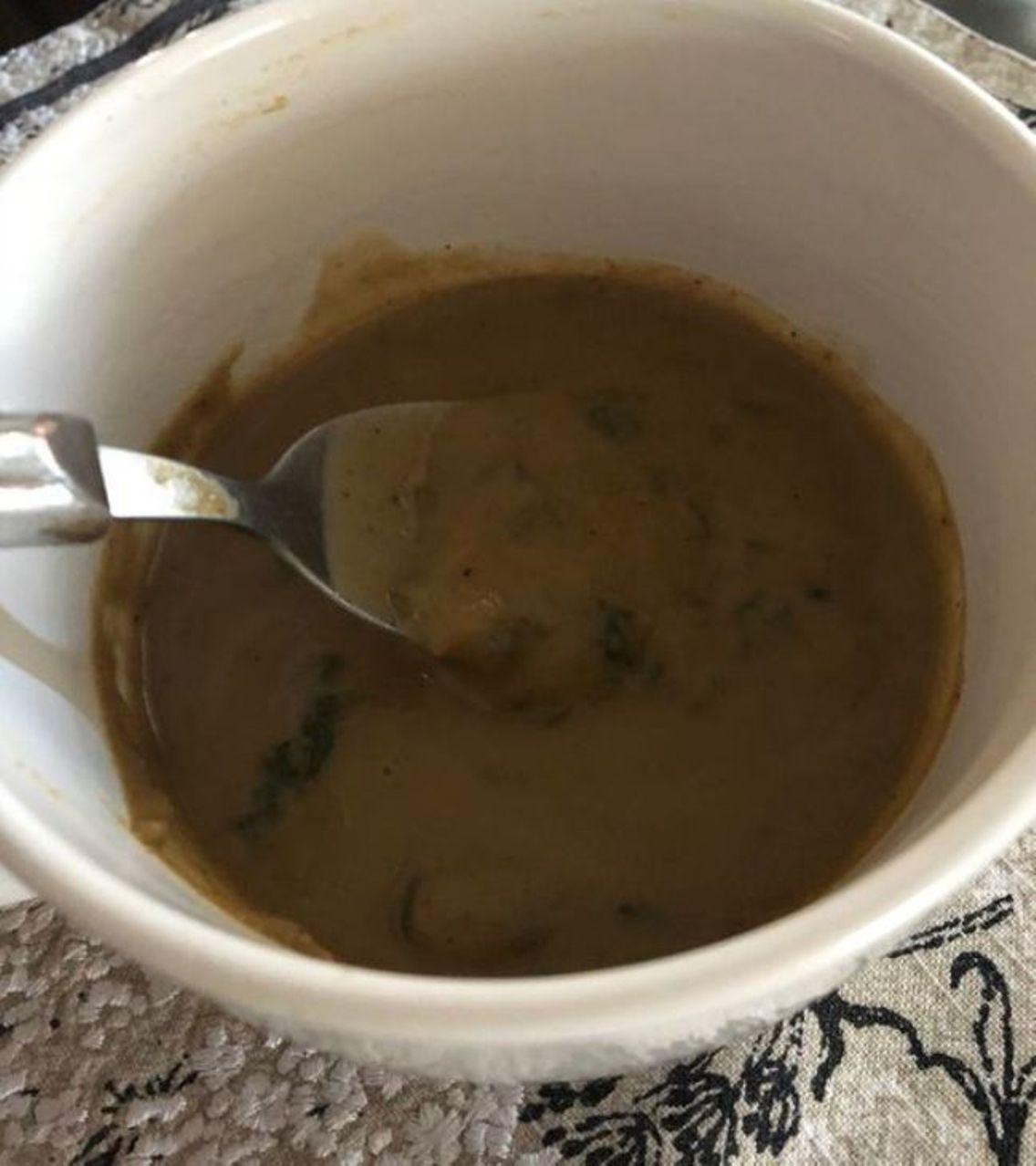 Vegan Mushroom and Kale Soup