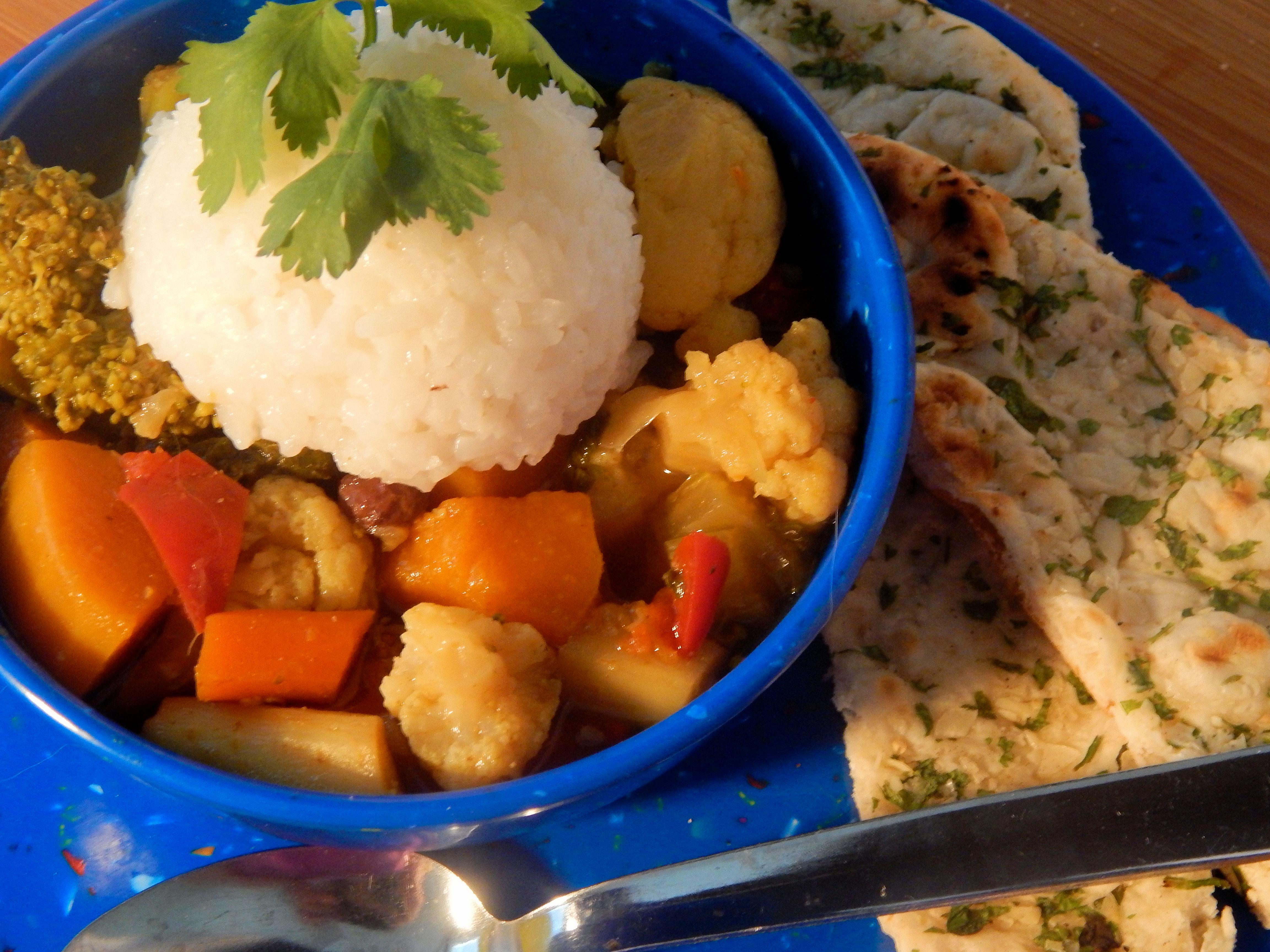Winter Harvest Curry Stew