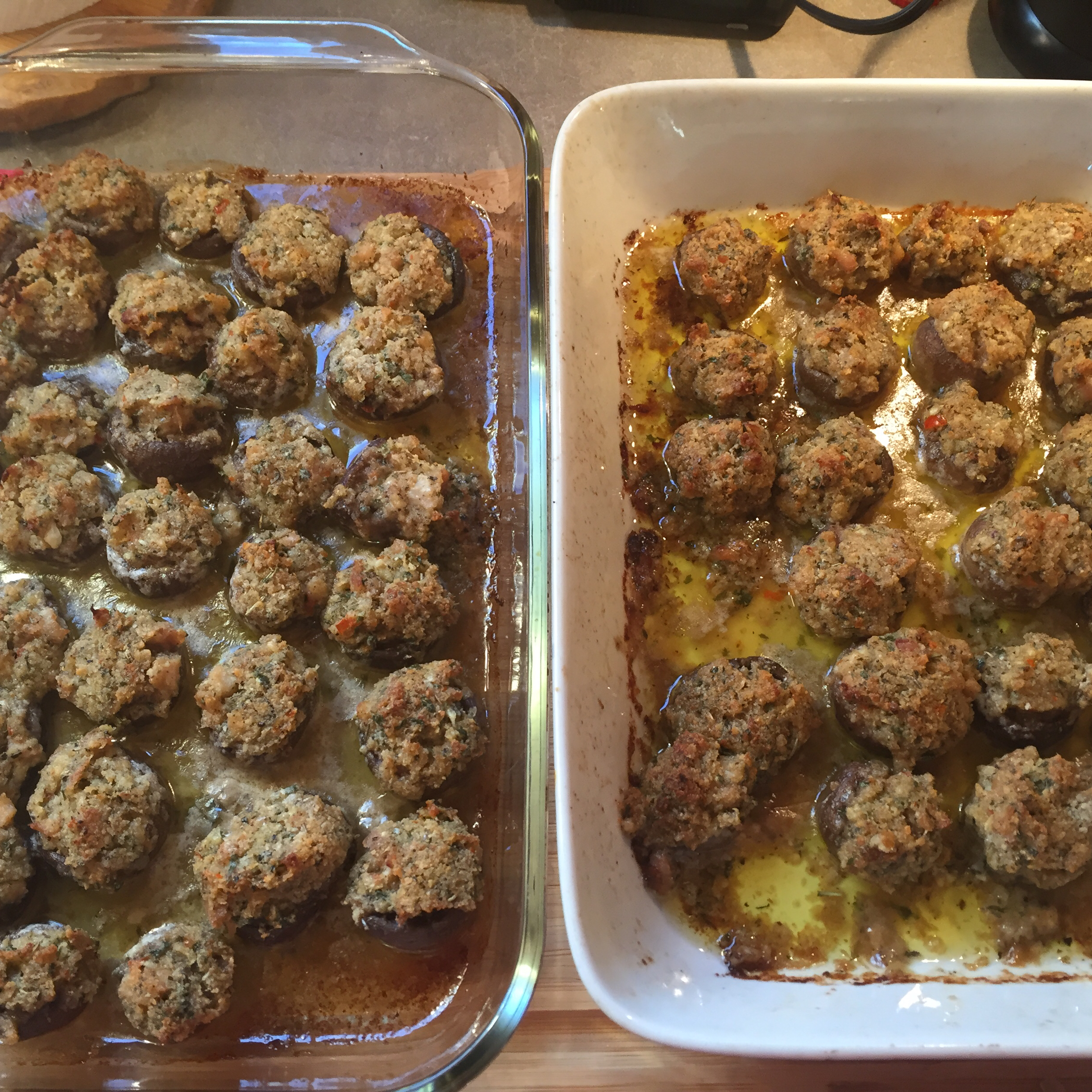 Dinah's Stuffed Mushrooms Ean Levy