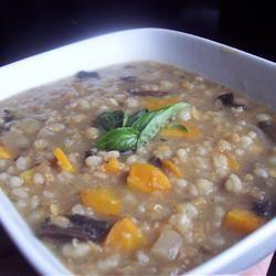 Mushroom Lentil Barley Stew Sarah-May