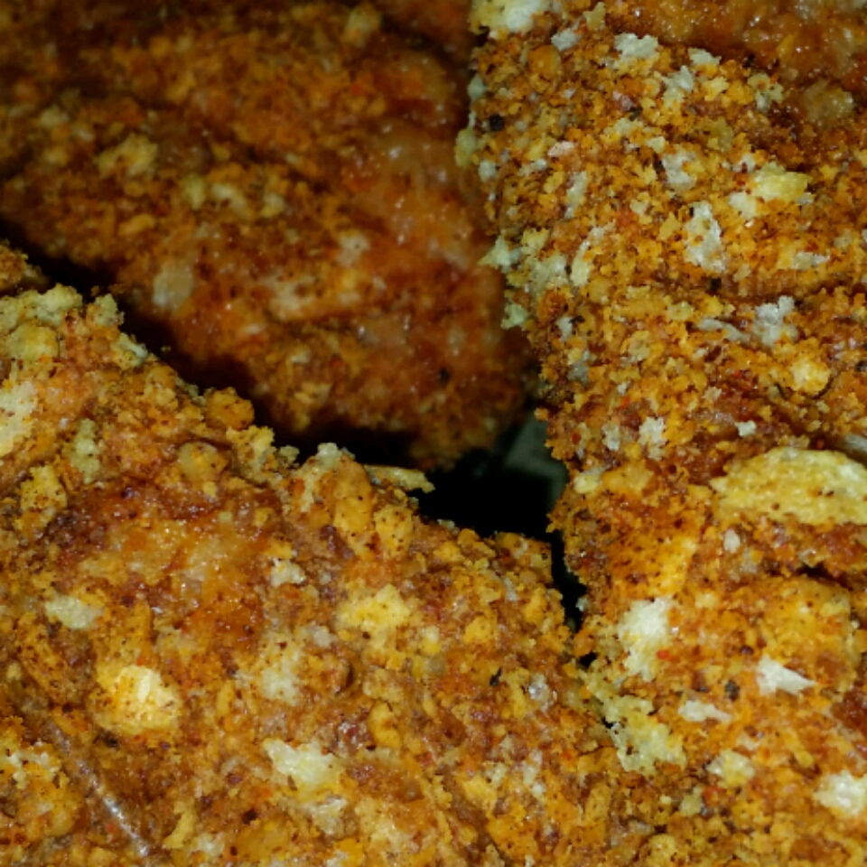Pecan-Crusted Chicken Tenders suzette