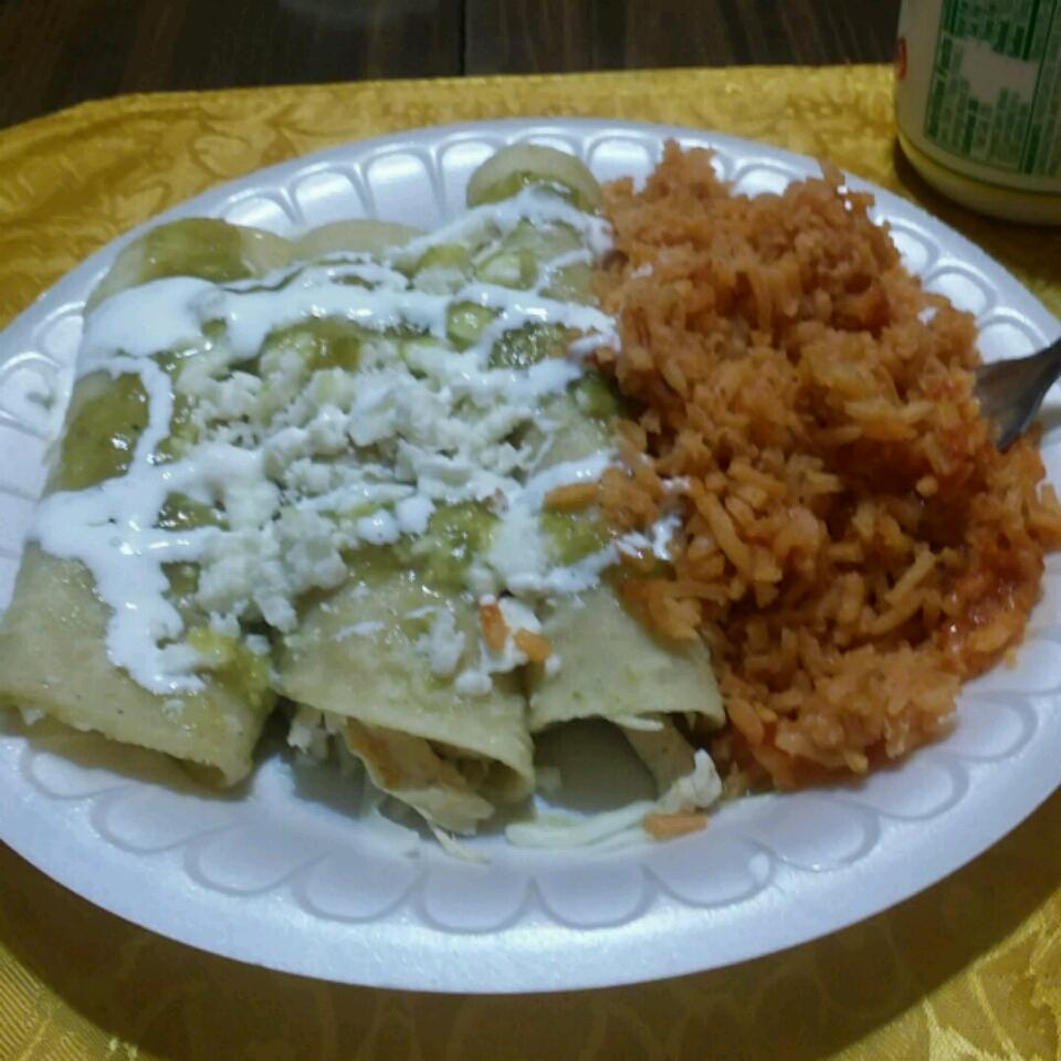 Enchiladas Verdes Elizabeth