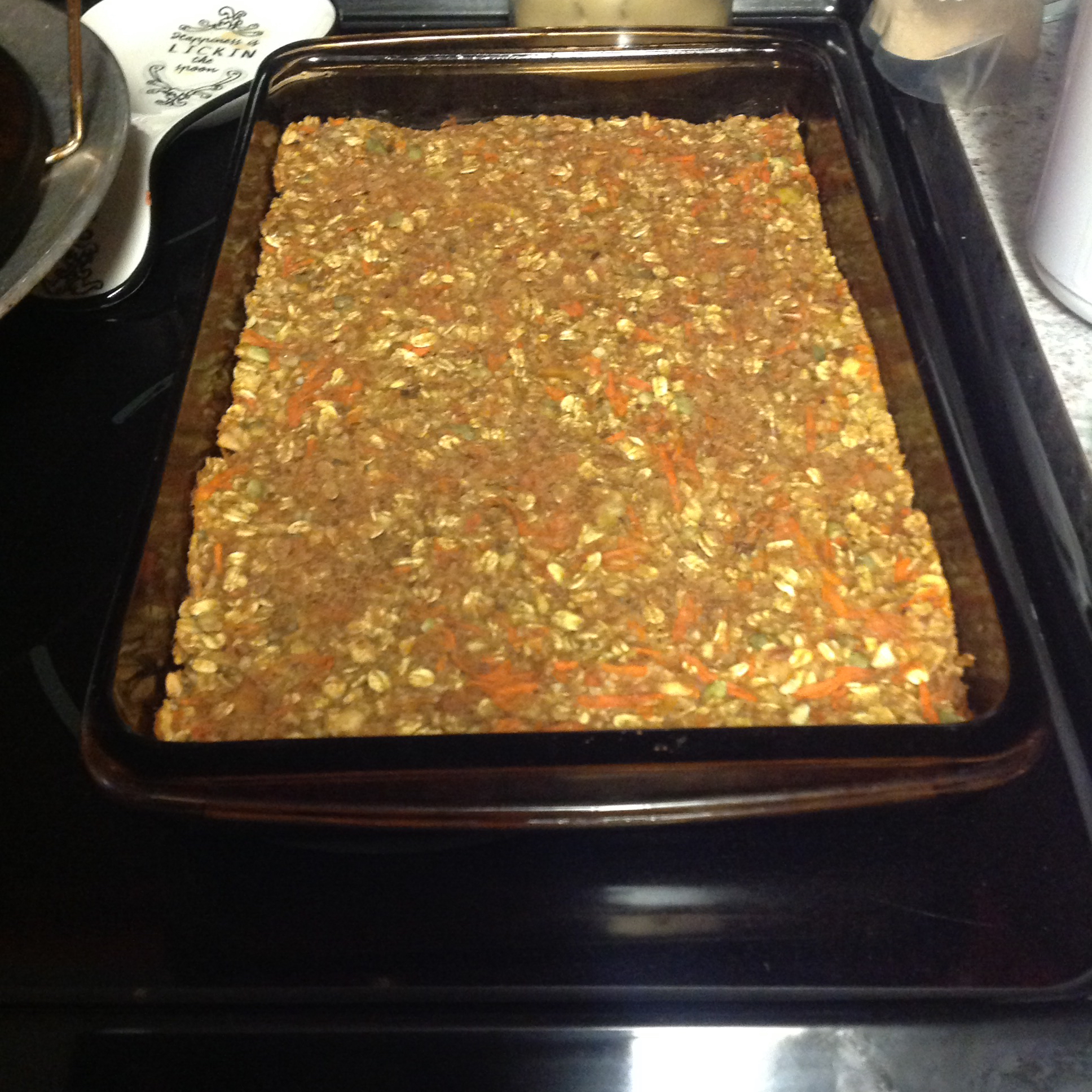 Banana Oat Energy Bars JERRY M