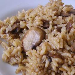 Easy Mushroom Rice Christina