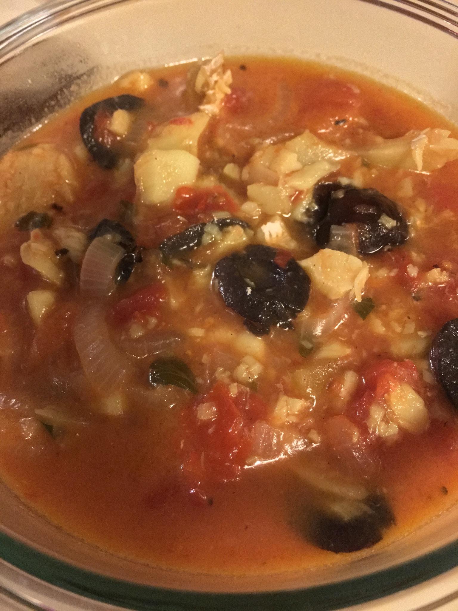 Fish Fillets Italiano Chertinep